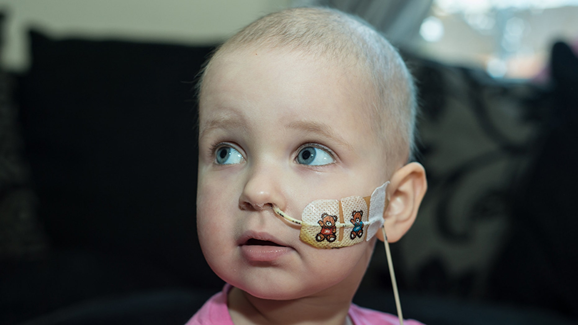 Tazmin Handley was diagnosed with leukemia last summer, but after going through chemotherapy she is now in remission.