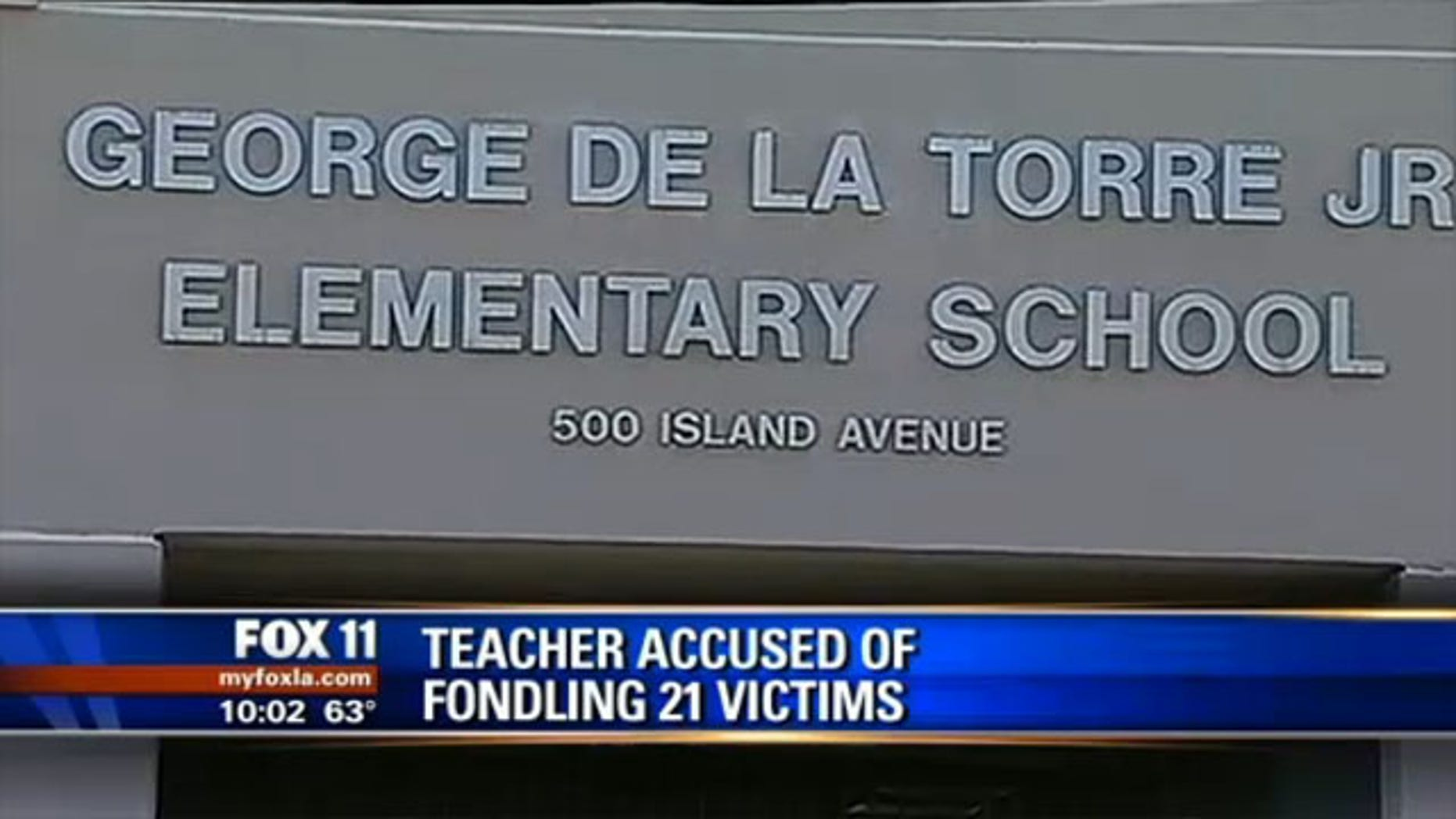 The school where Robert Pimentel allegedly carried out his abuse against children.