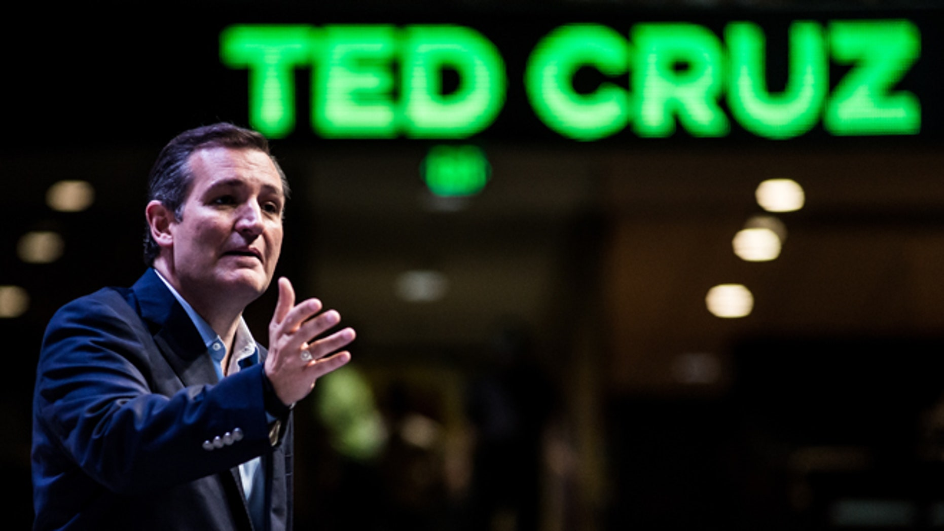 Sen. Ted Cruz speaks at the Heritage Action Presidential Candidate Forum September 18, 2015 in Greenville, South Carolina.