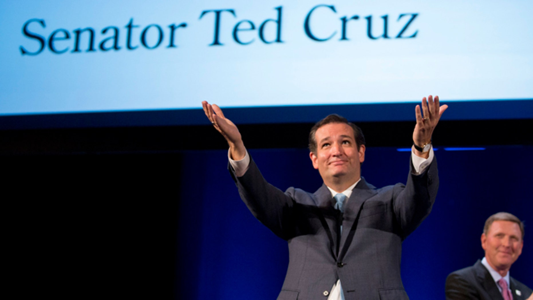 Aug. 10, 2013: Sen. Ted Cruz speaks during the family leadership summit in Ames, Iowa.