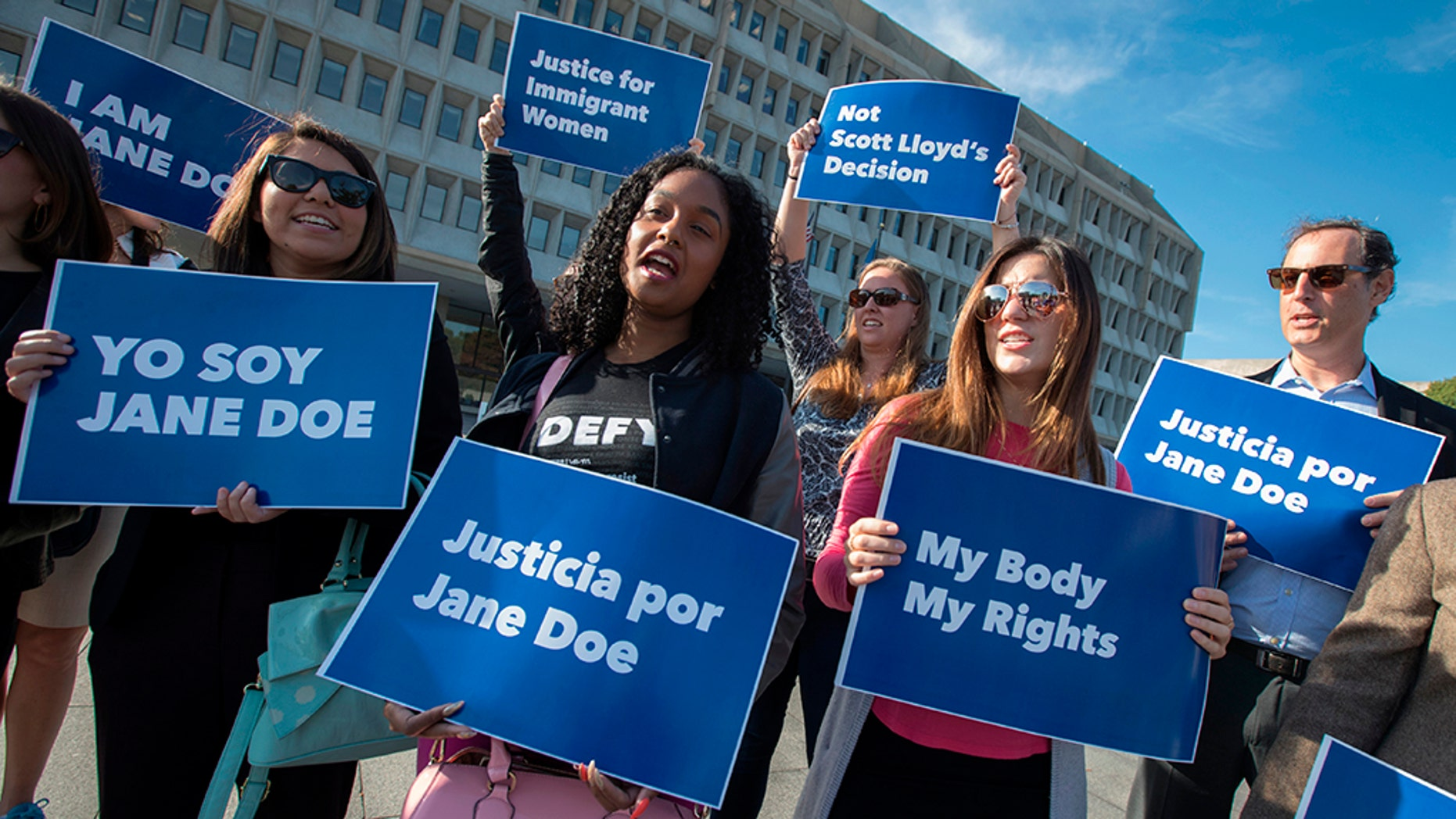 "U.S. District Judge Tanya Chutkan ordered that the government be barred from ""interfering with or obstructing"" pregnant minors' access to abortion counseling or abortions while a lawsuit by the American Civil Liberties Union proceeds."