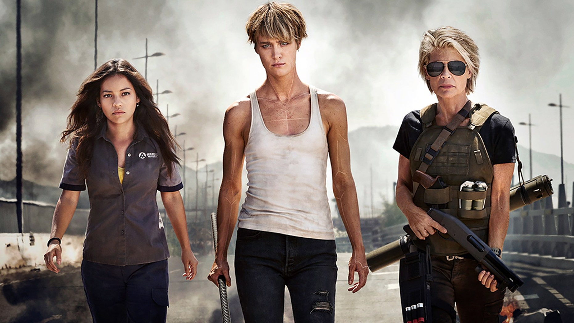 """Paramount released the first official image of the new """"Terminator"""" movie on Wednesday."""
