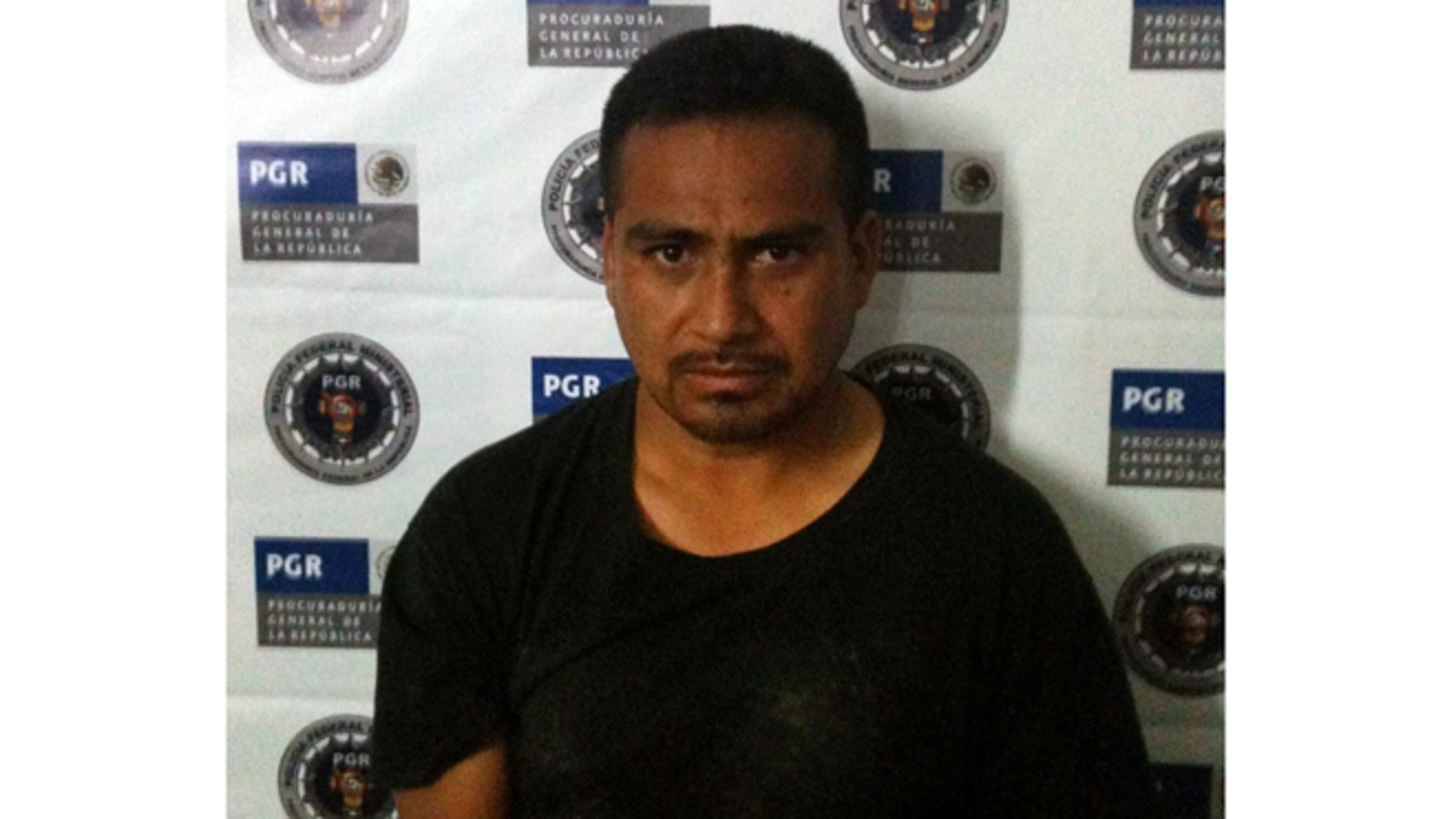 This undated photo taken by Mexican Authorities and provided Wednesday, Feb. 6, 2013 by the Texas Department of Criminal Justice shows Juan Salaz.