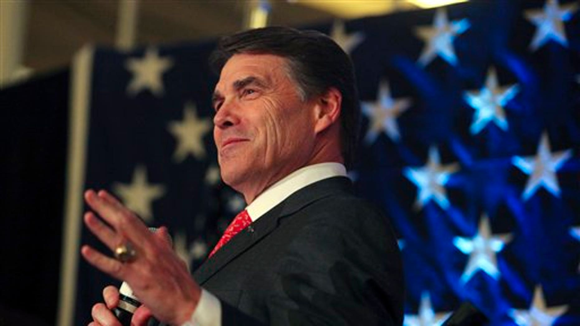Texas Governor Rick Perry