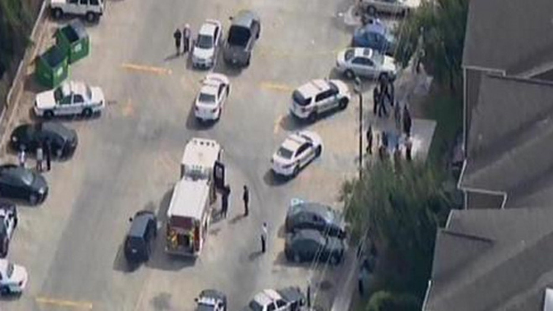 Houston authorities respond to a deadly shooting on the campus of Texas Southern University.