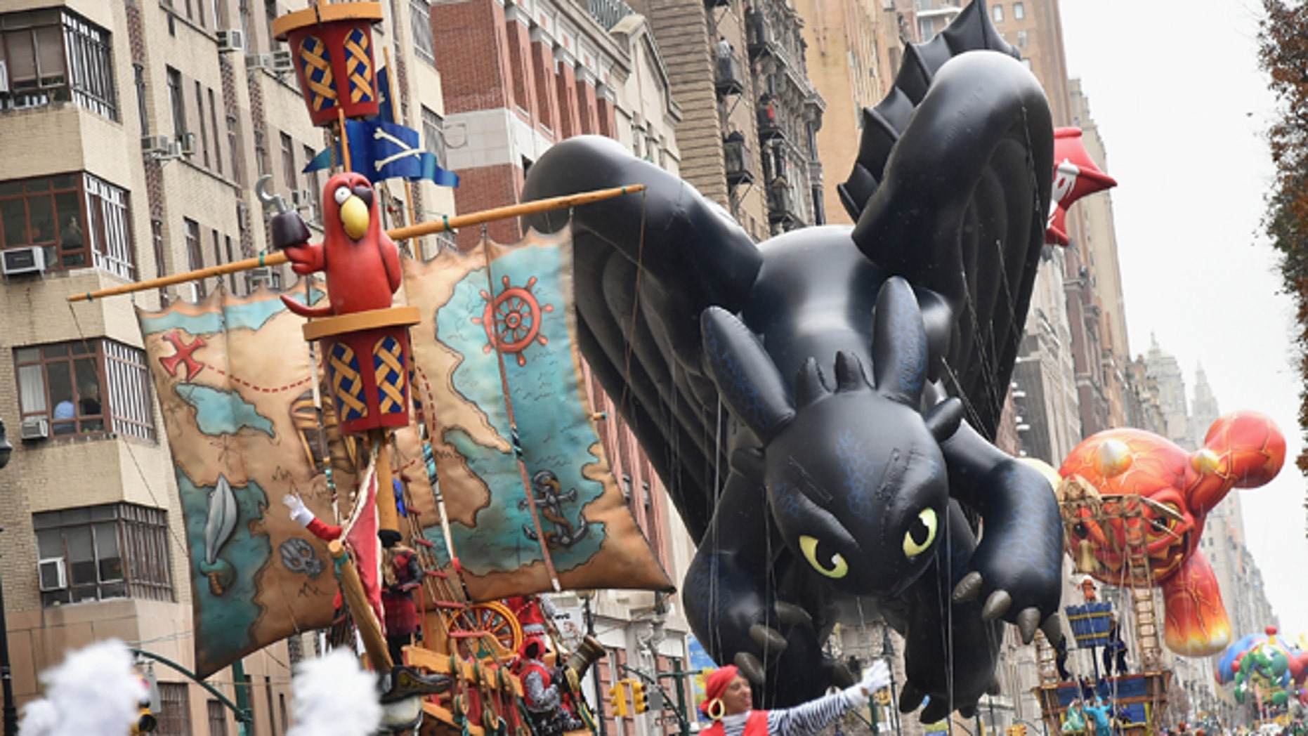 'Toothless' of How To Train Your Dragon balloon during last year's Thanksgiving Day Parade.