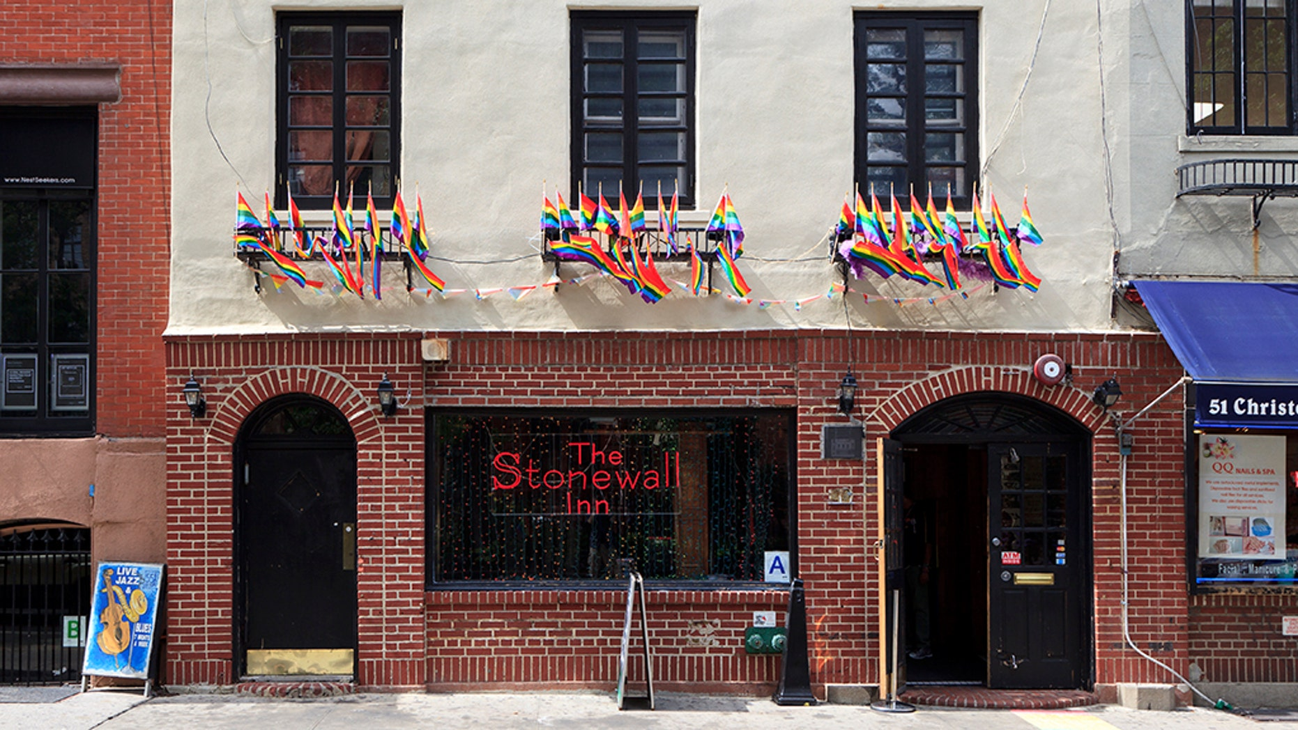 The Stonewall Inn is a bar and tavern in Greenwich Village in New York City.