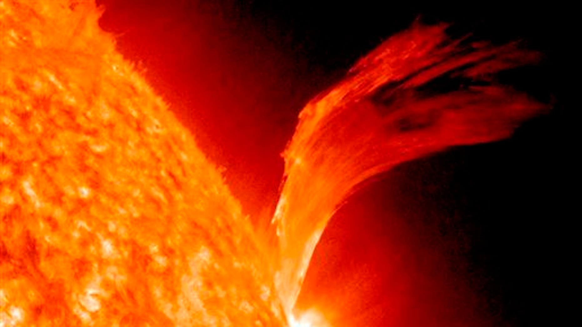 A big enough solar flare could wipe out electricity on Earth. The White House announced Thursday it wants to be ready.