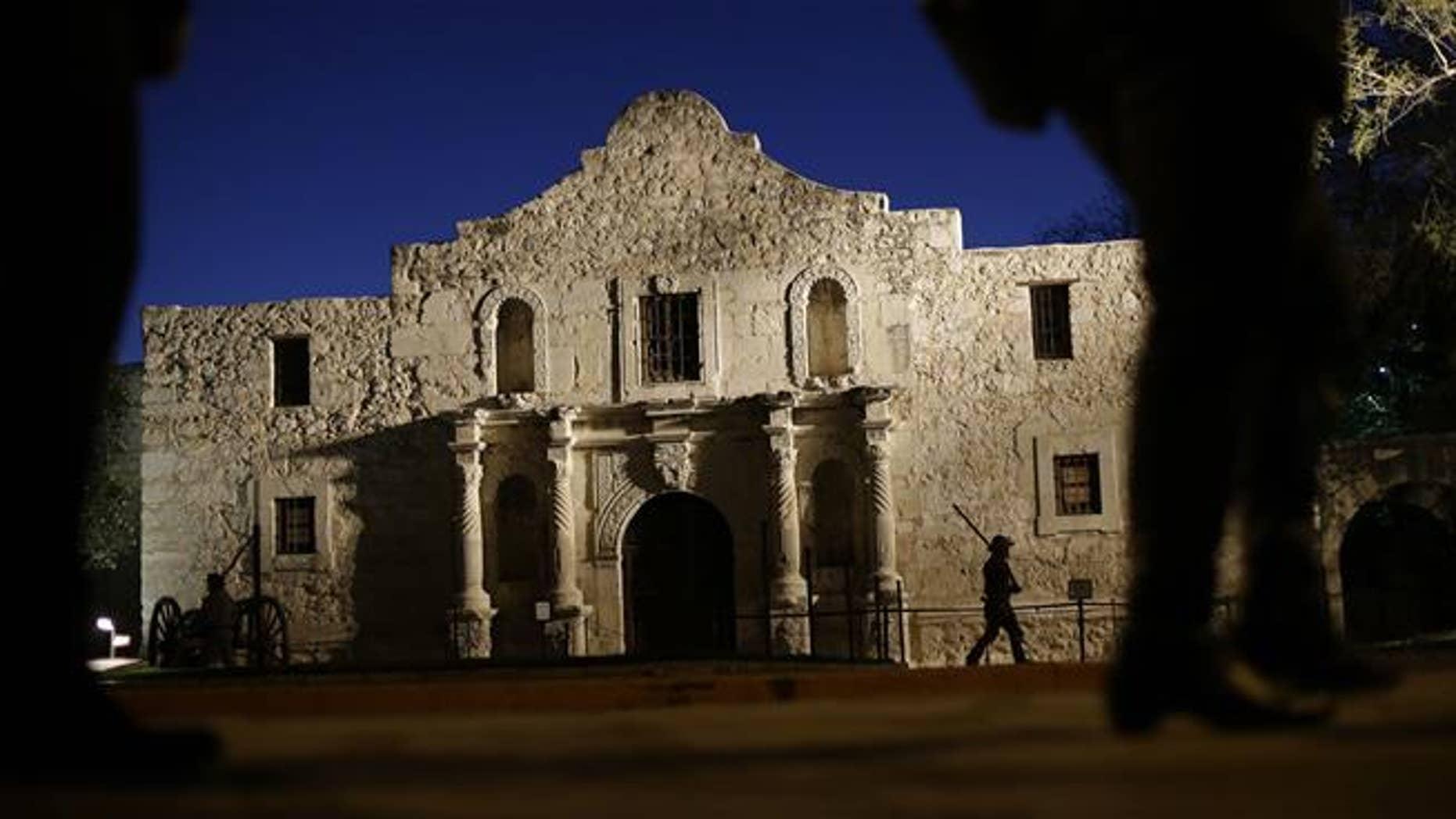 The Alamo is seen in 2013.
