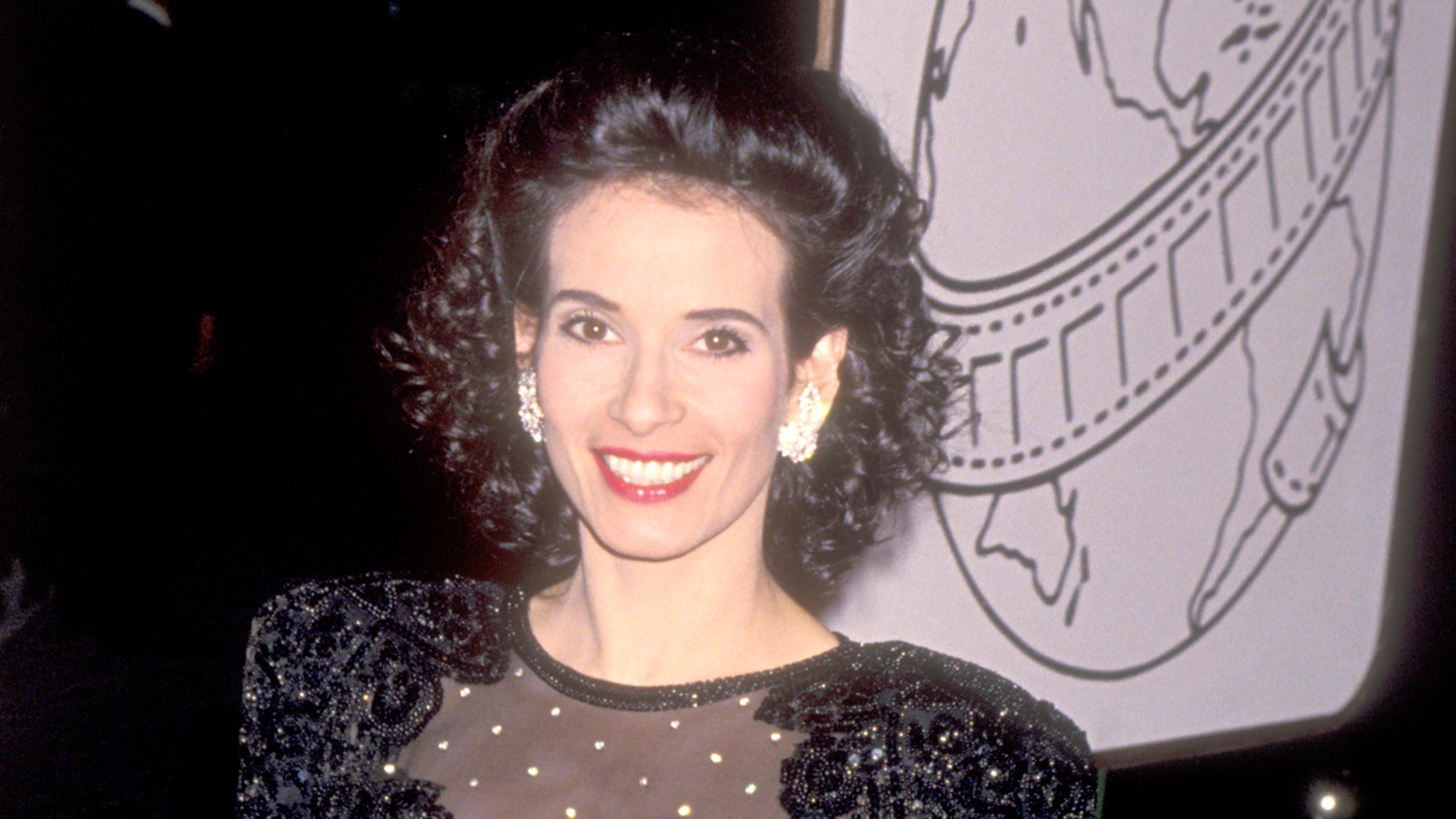 Theresa Saldana at the Golden Globe Awards on January 22, 1994 in Beverly Hills, California.