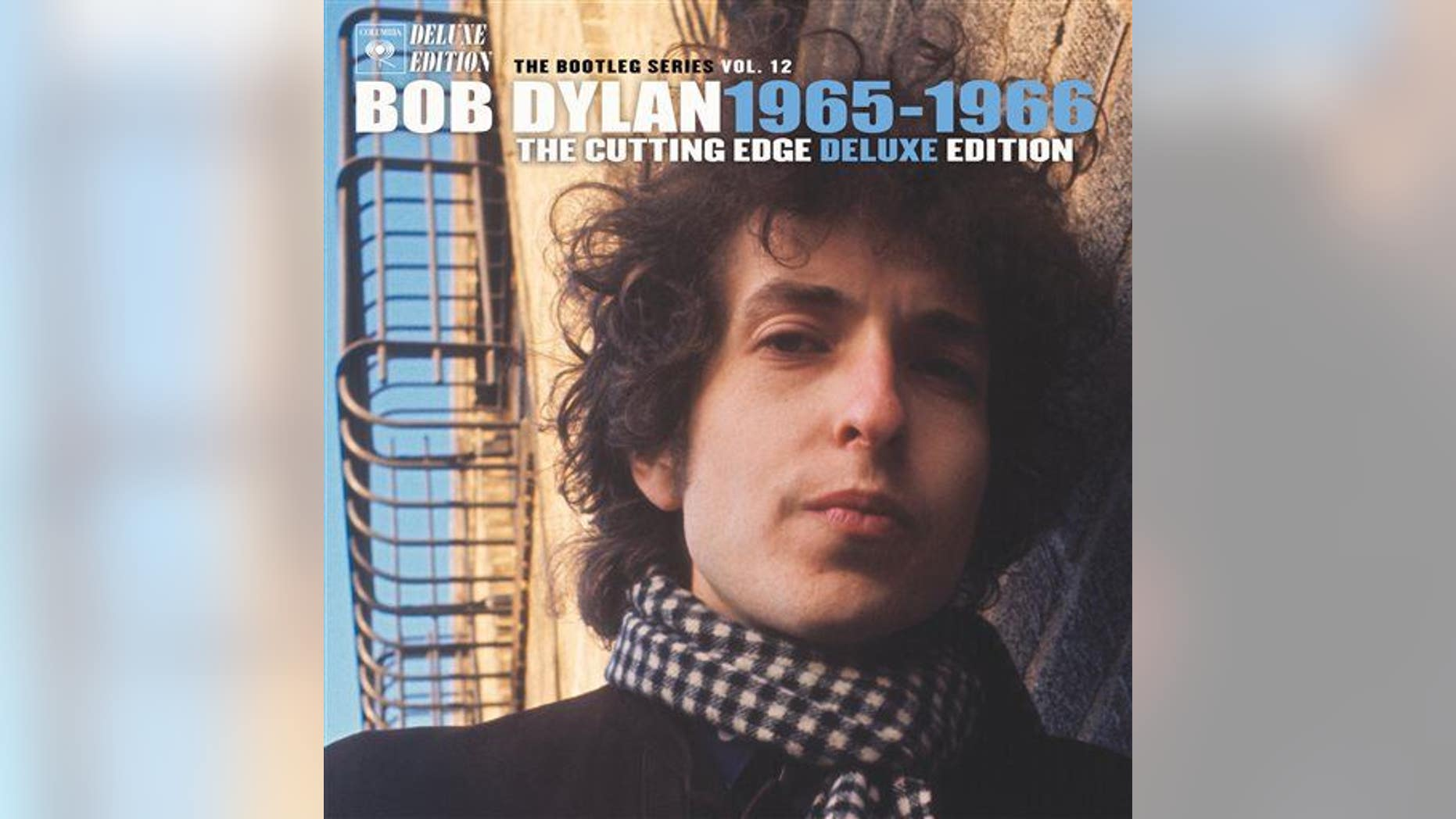 """This box set cover image released by Columbia Records shows """"Bob Dylan: The Best of the Cutting Edge 1965-1966: The Bootleg Series Vol. 12."""""""