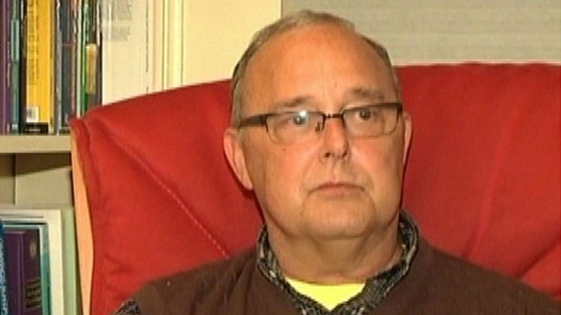 Thomas Sawyer, 61, says his urostomy bag was broken during a TSA pat-down at Detroit Metropolitan Airport earlier this month.