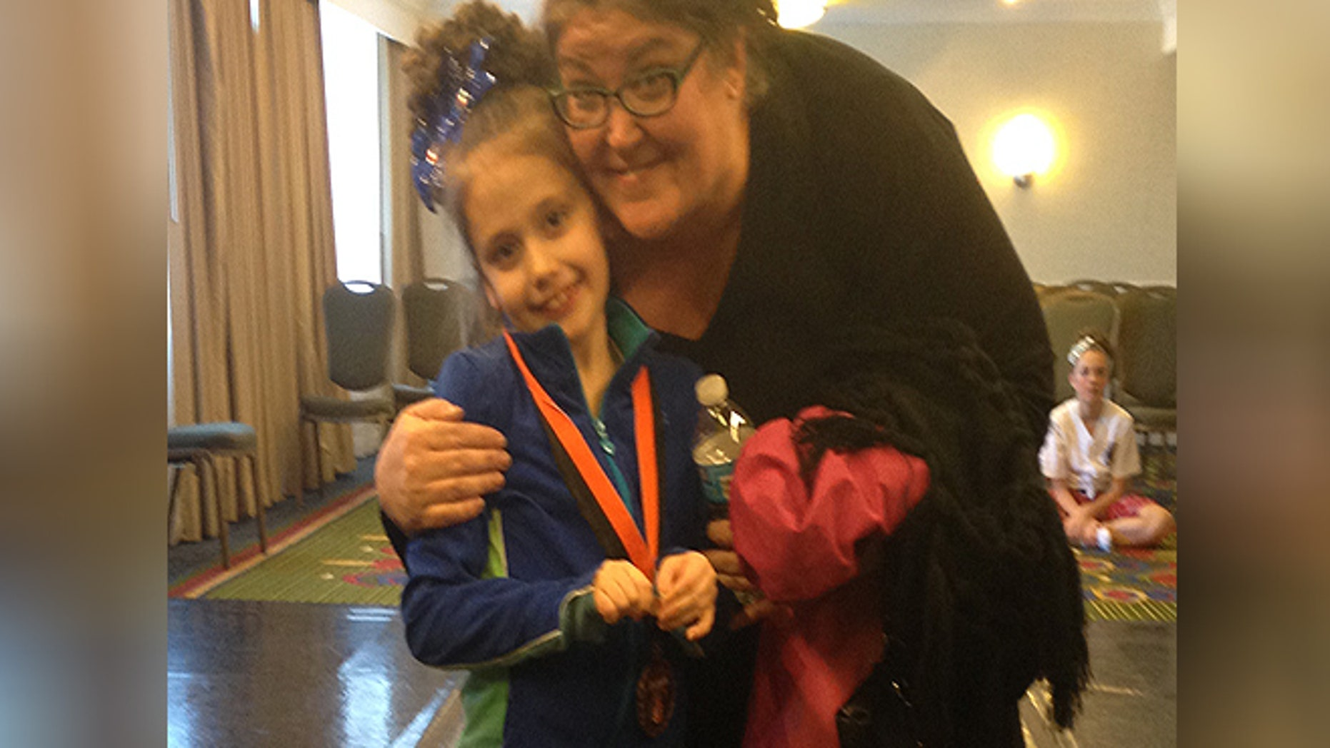 Michele Thornton claims officials at Oldmans Township Elementary School barred her 9-year-old daughter from a school party because it was only for students who took PARCC exams. (Courtesy of MIchele Thornton)