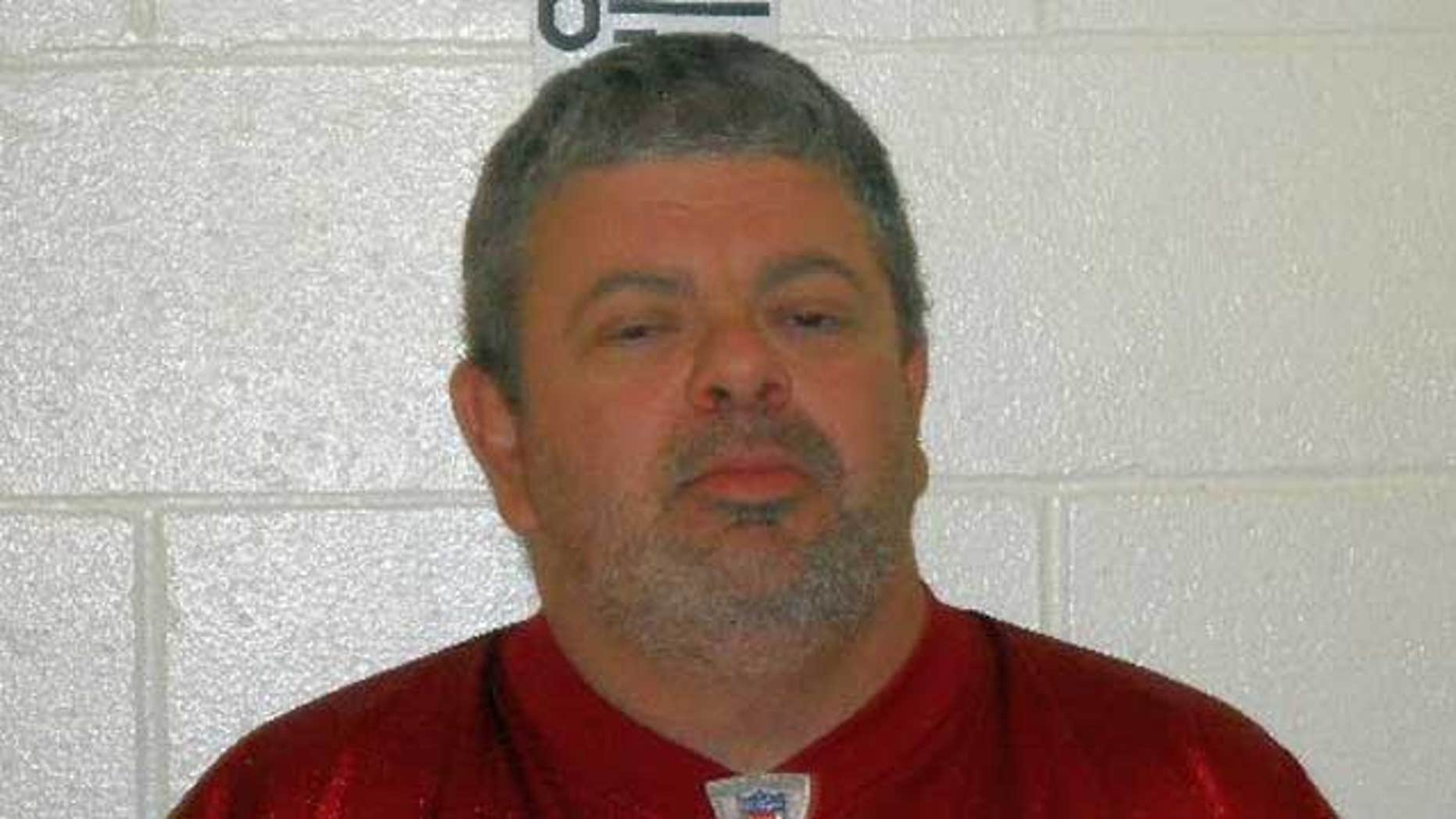 Timothy Courtois is being held on $50,000 bail in a Maine jail.