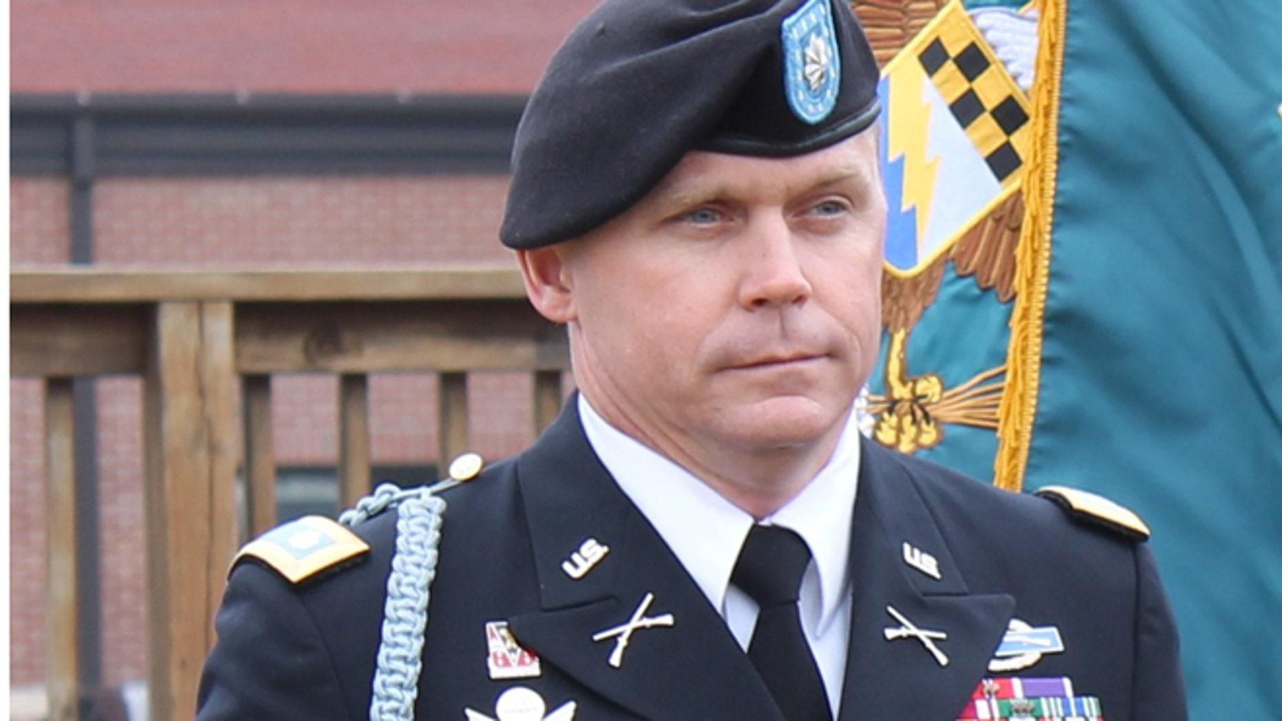 Lt. Col. Roy L. Tisdale, commander of the 525th Brigade Special Troops Battalion, 525th Battlefield Surveillance Brigade.