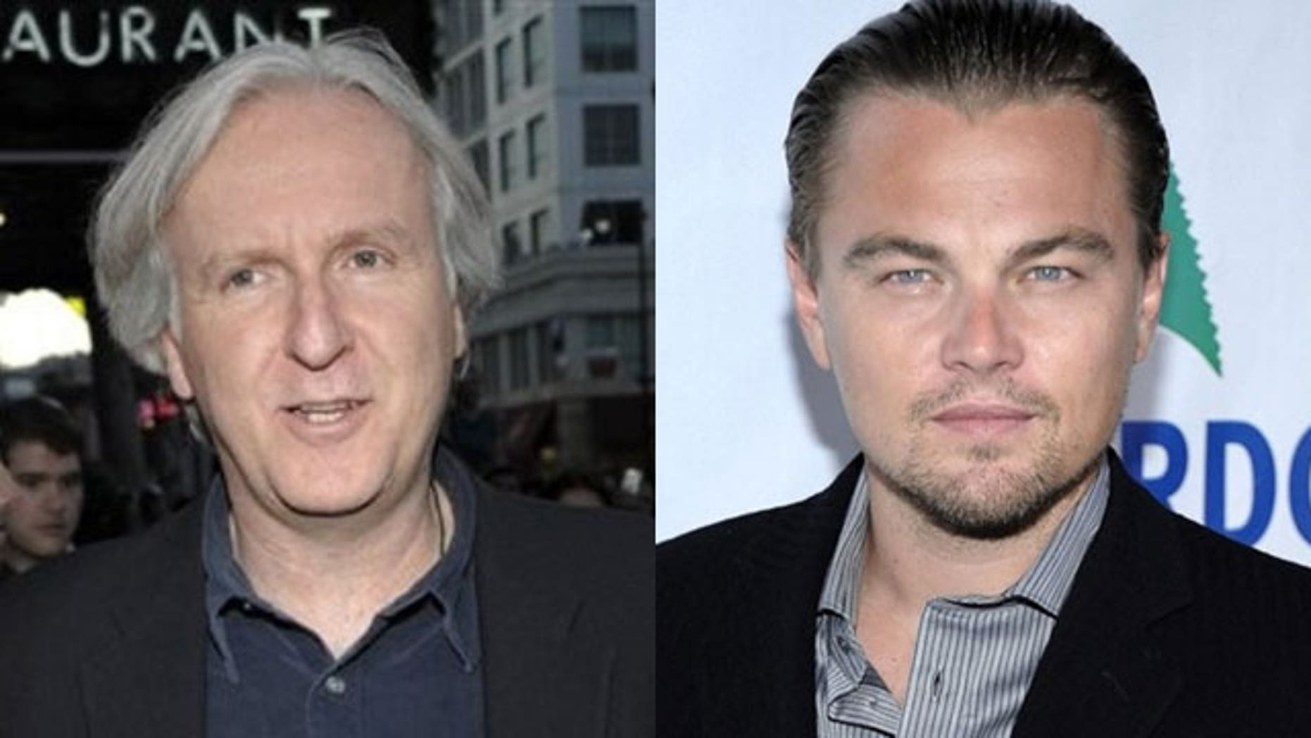 "It seems things between ""Titanic"" director James Cameron (l) and star Leonardo DiCaprio weren't smooth sails after all."