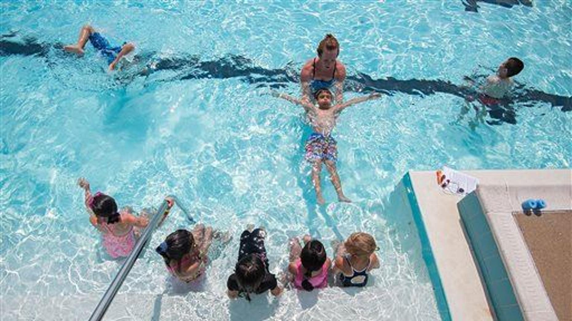 Secondary drowning can happen up to 24 hours after exiting pool.