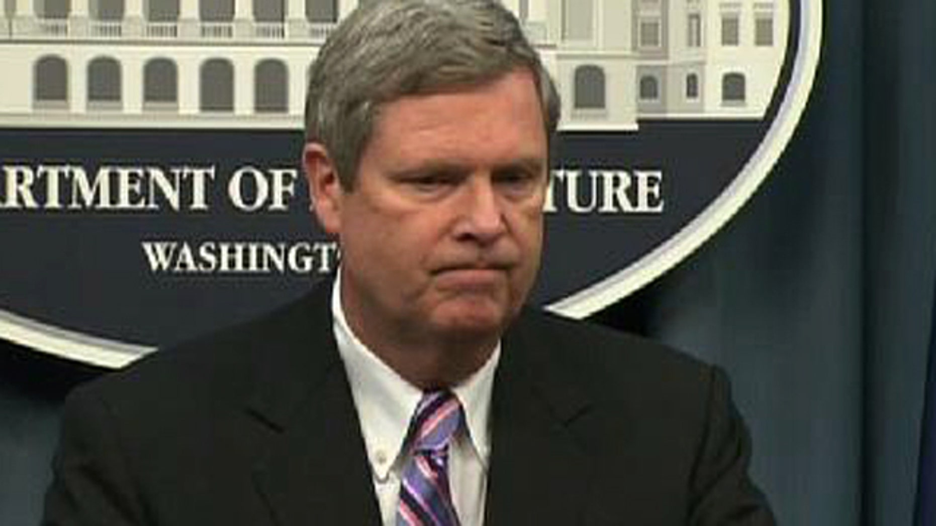July 21, 2010: Agriculture Secretary Tom Vilsack speaks to reporters about the controversial ouster of a state-level official over racial remarks.