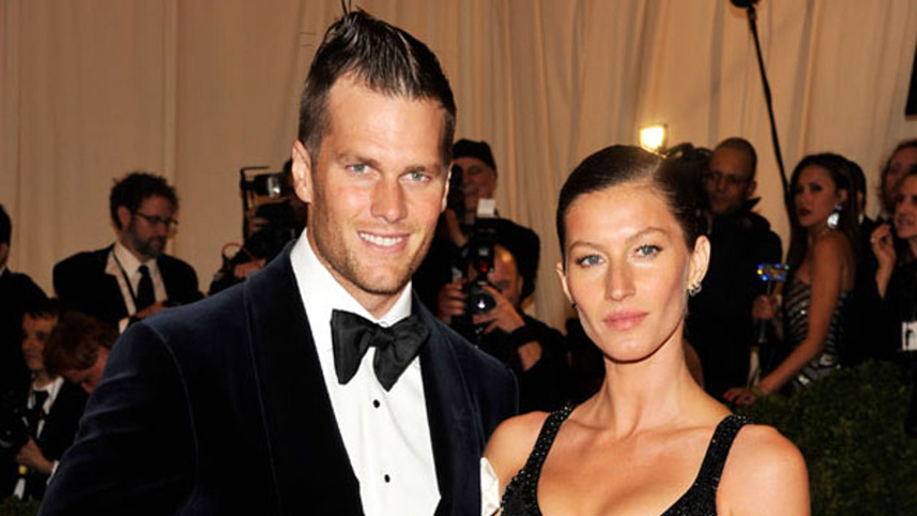 Tom Brady's hair looked a little ... different Monday.