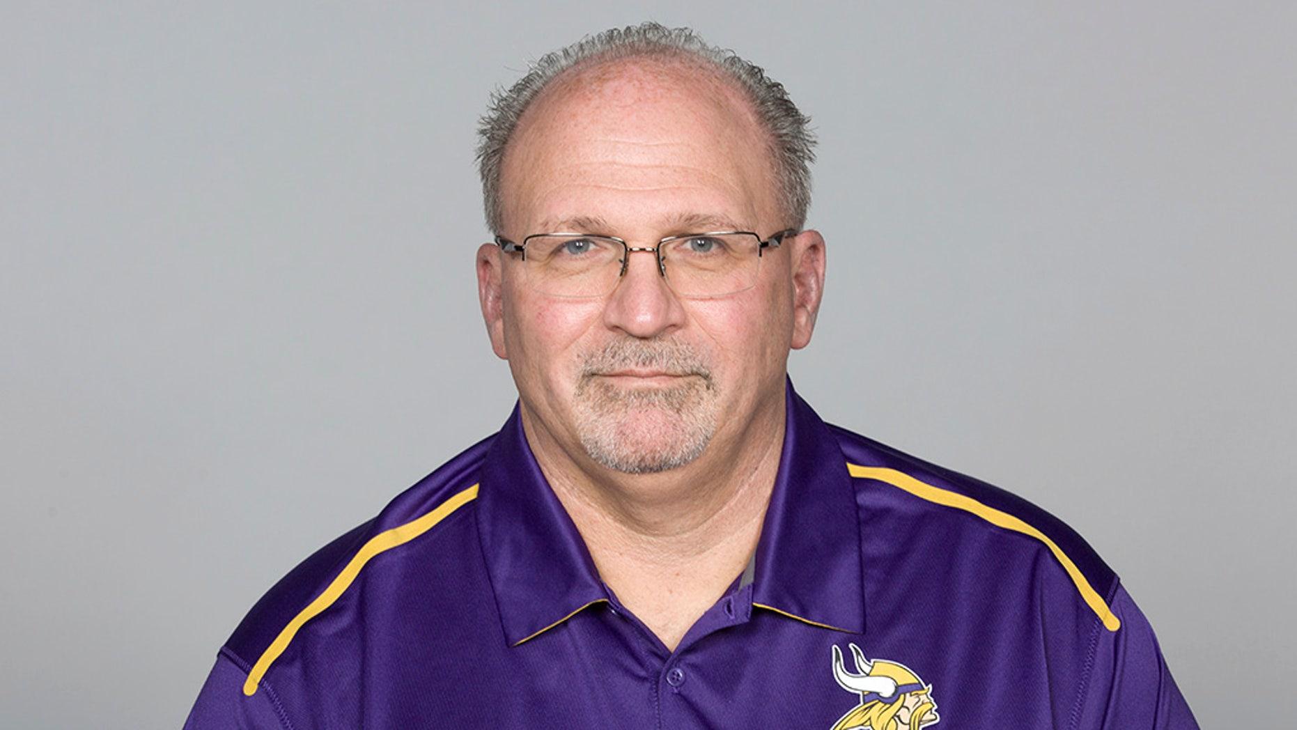 Tony Sparano was entering his third season as Minnesota Vikings offensive line coach.