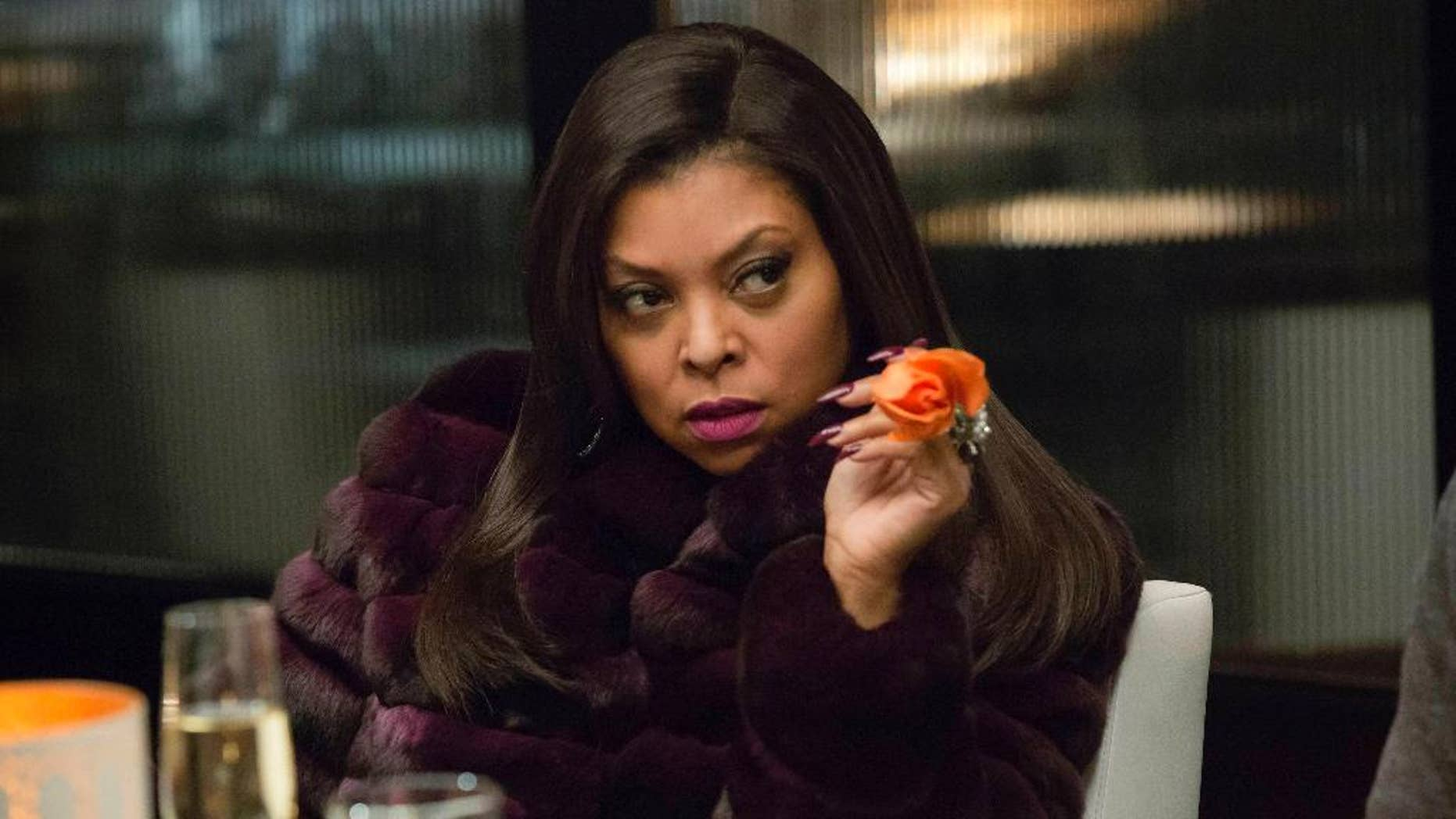 """This image released by Fox shows Taraji P. Henson, as Cookie, in a scene from """"Empire,"""" an original scripted series airing on the Fox network. There were 26 original scripted series on cable in prime time and late night in 1999, and 199 last year _ an increase of 665 percent. An additional 25 series were offered in 2014 on Netflix, Amazon or Hulu, services that didn't exist as original programmers 15 years ago. (AP Photo/Fox, Chuck Hodes)"""