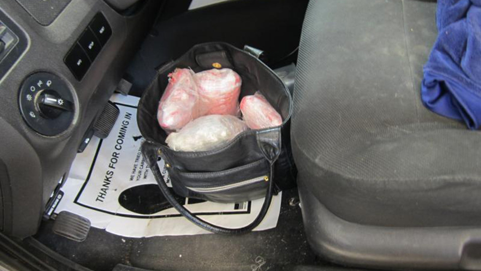 U.S. Customs and Border Protection agents arrested a U.S. citizen, 75, for attempting to smuggle 17 pounds of heroin across the border.