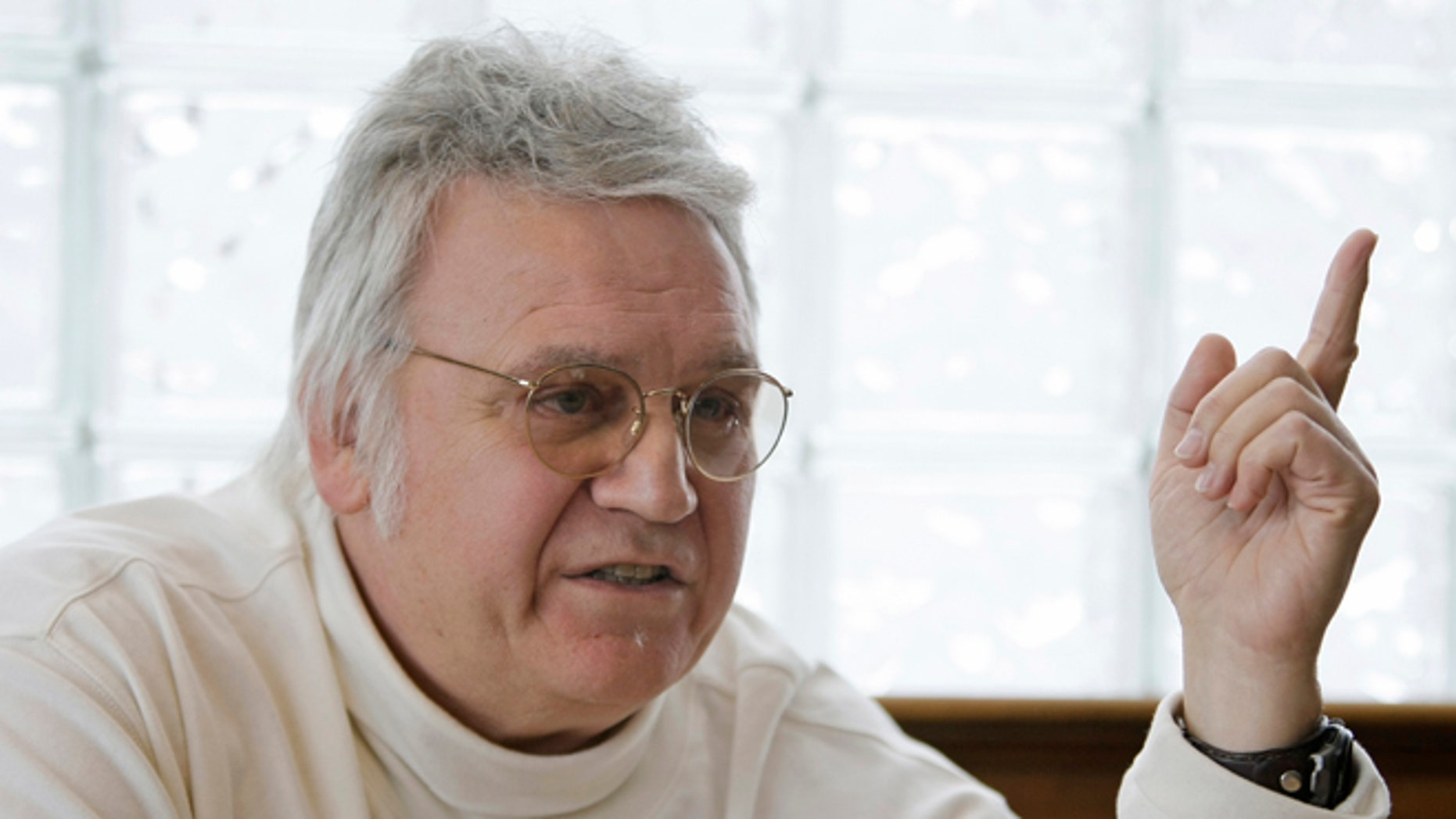 FILE: Feb. 25, 2010: Former Rep. James Traficant, D-Ohio, at a diner in Boardman, Ohio.