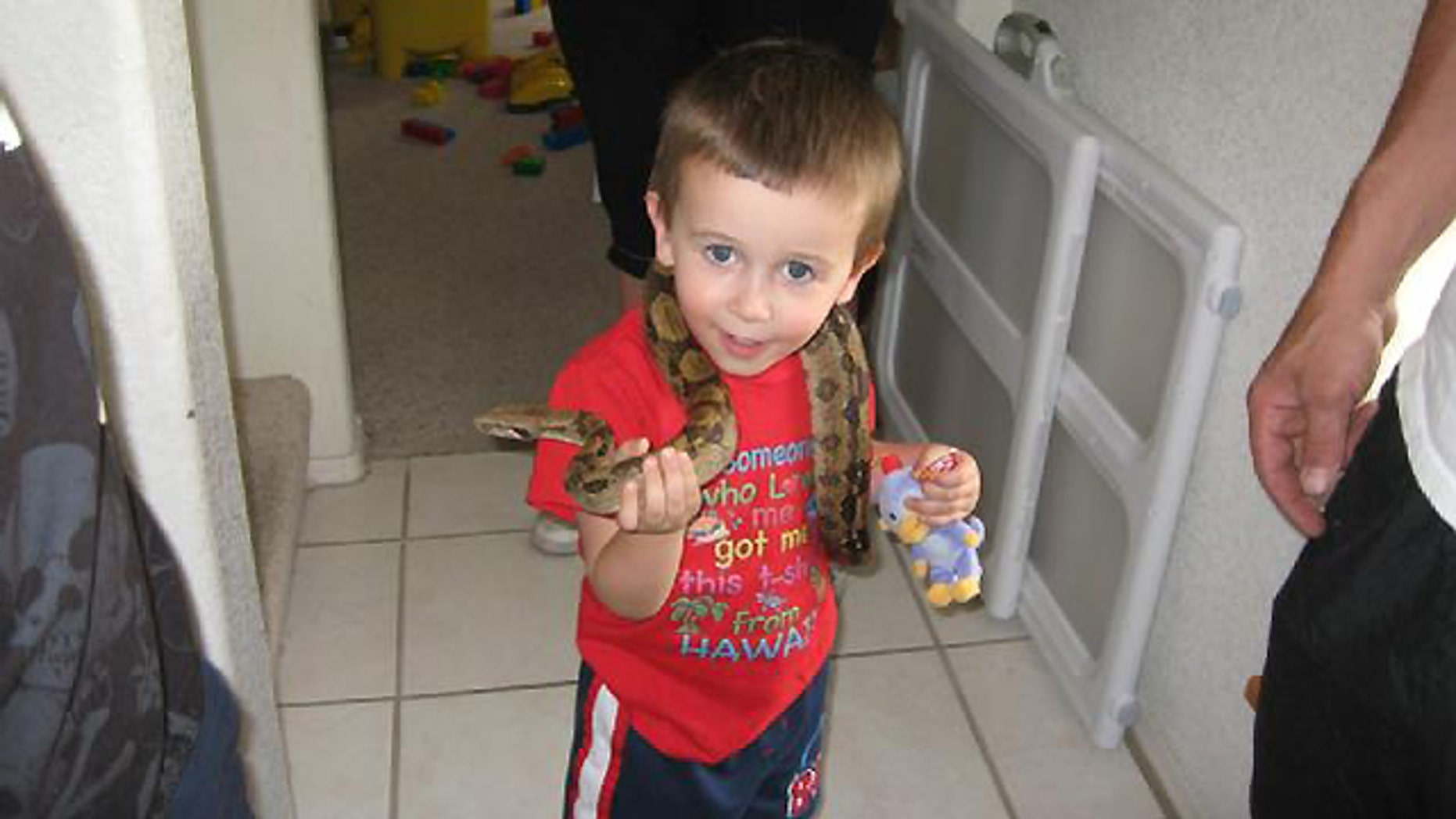Travis Mitchell, 4, reportedly was playing with other children Sunday night when he disappeared in a wooded area in the northwest corner of Payson.