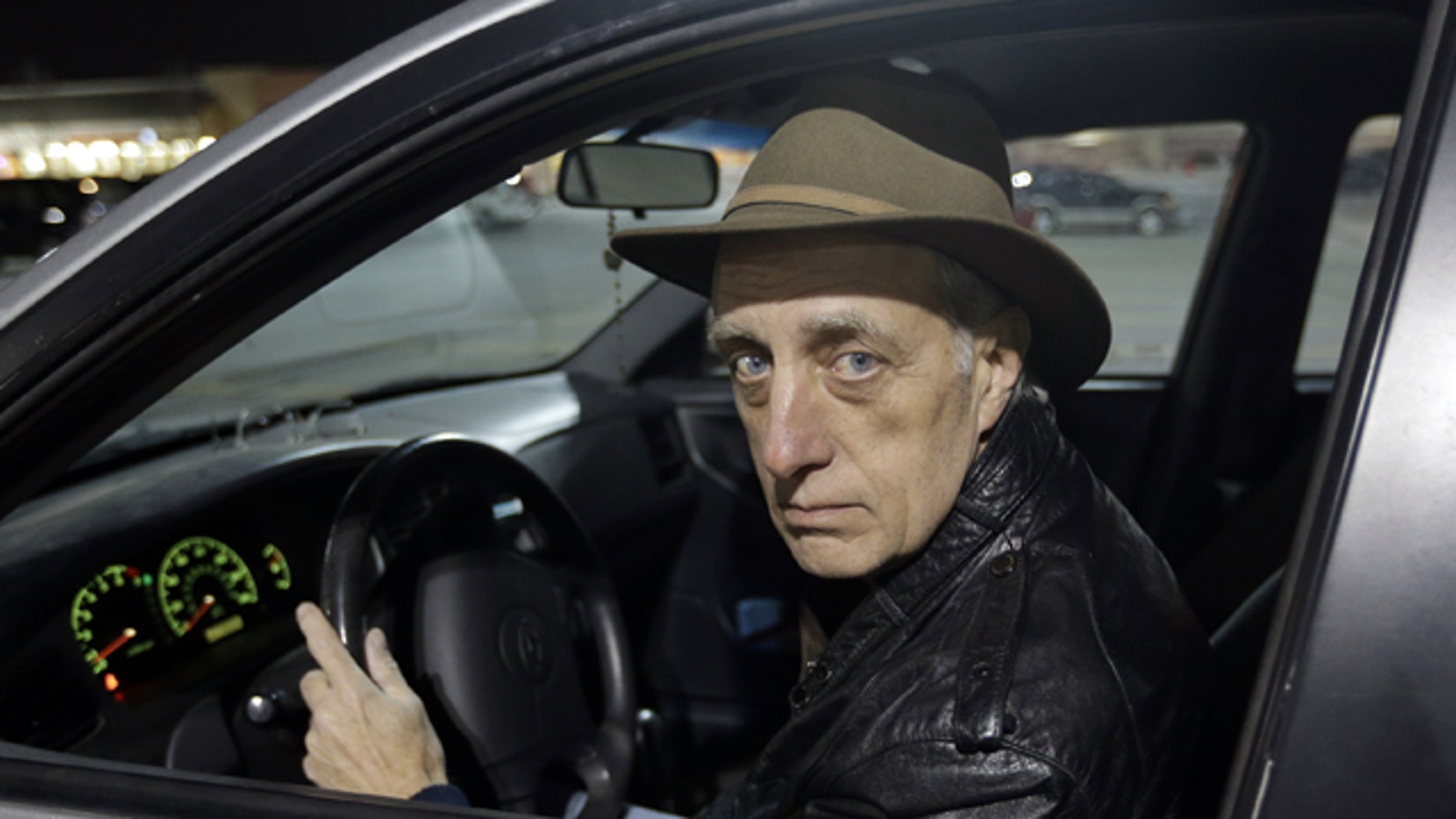 Feb. 21, 2013: Michael Choate, who says he nearly lost his job after DUI claim,  sits in his vehicle in West Jordan, Utah.