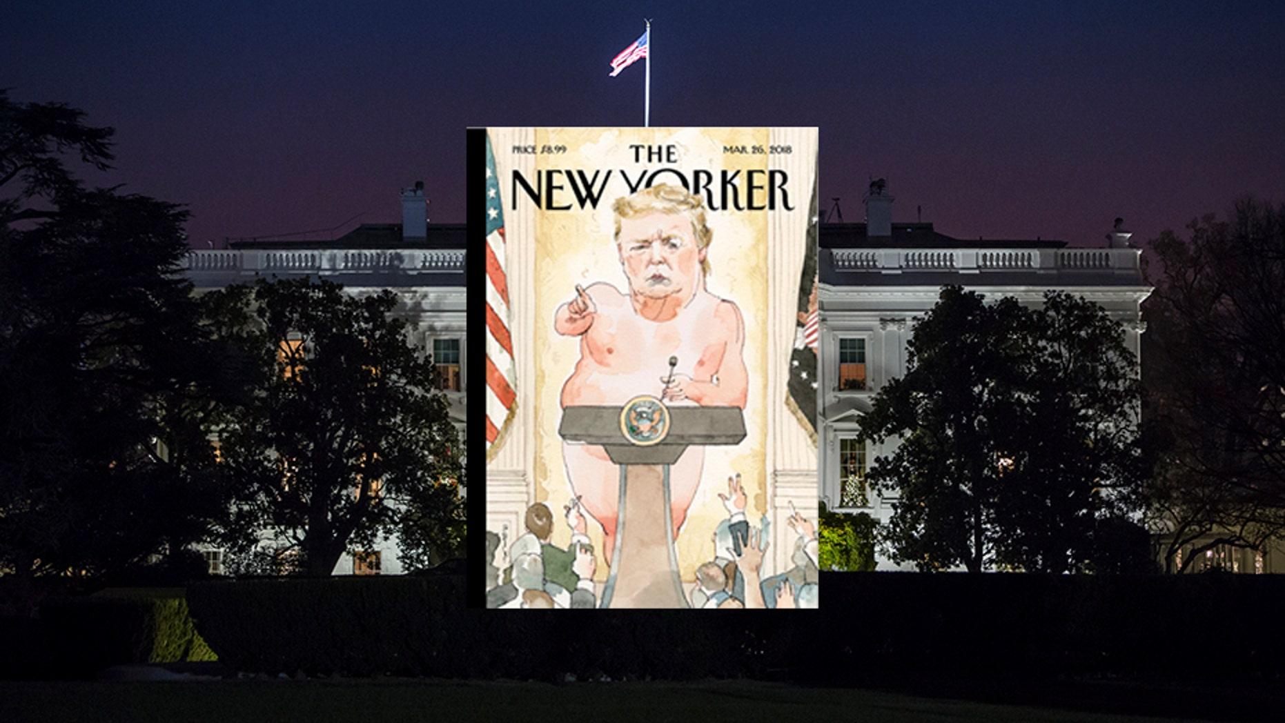 Critics claim the magazine cover body-shames President Trump
