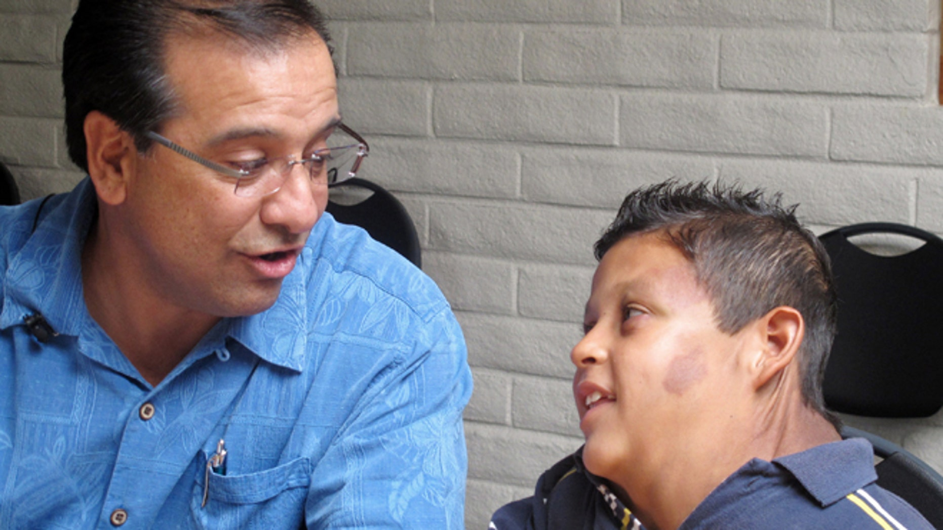 The boy with a massive tumor has been granted an extended visa to obtain treatment in New Mexico.
