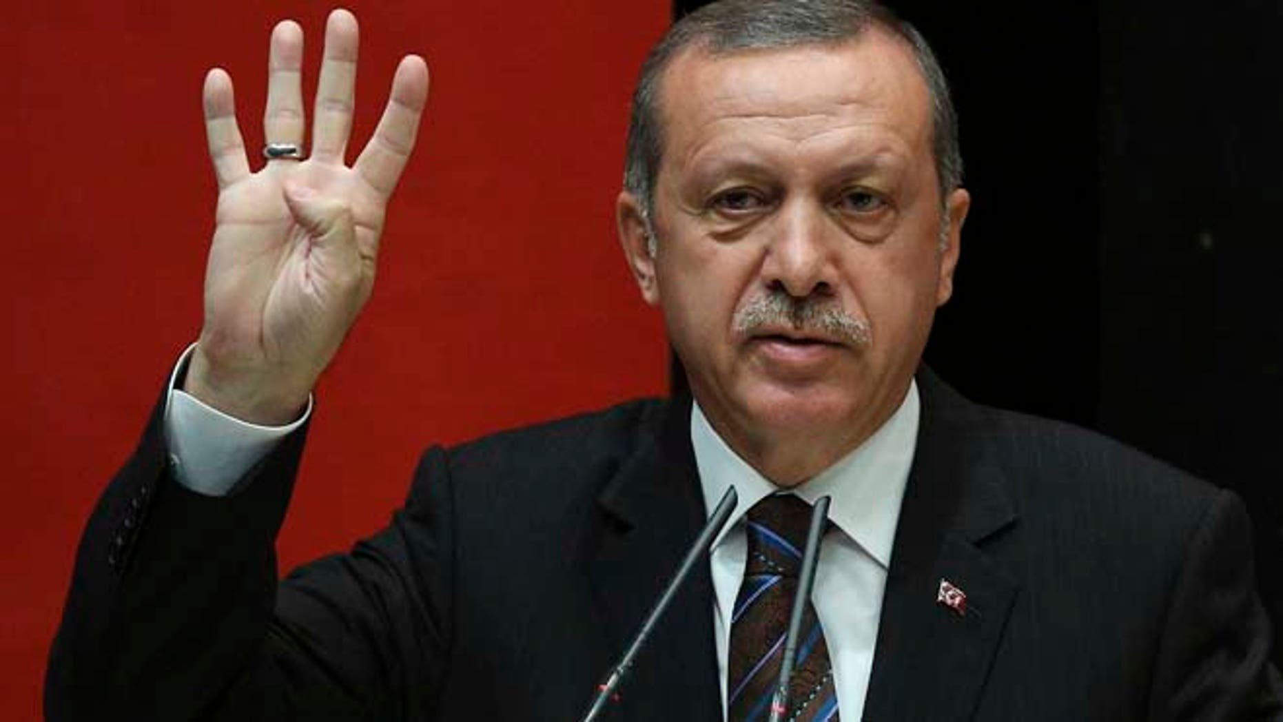 Turkish President Erdogan commands the region's most powerful army. (AP)