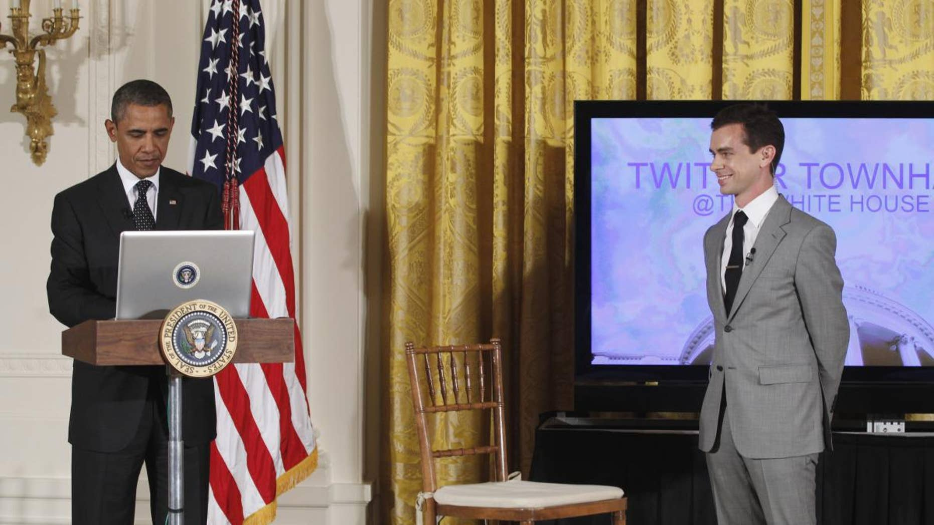 AP image/Twitter town hall