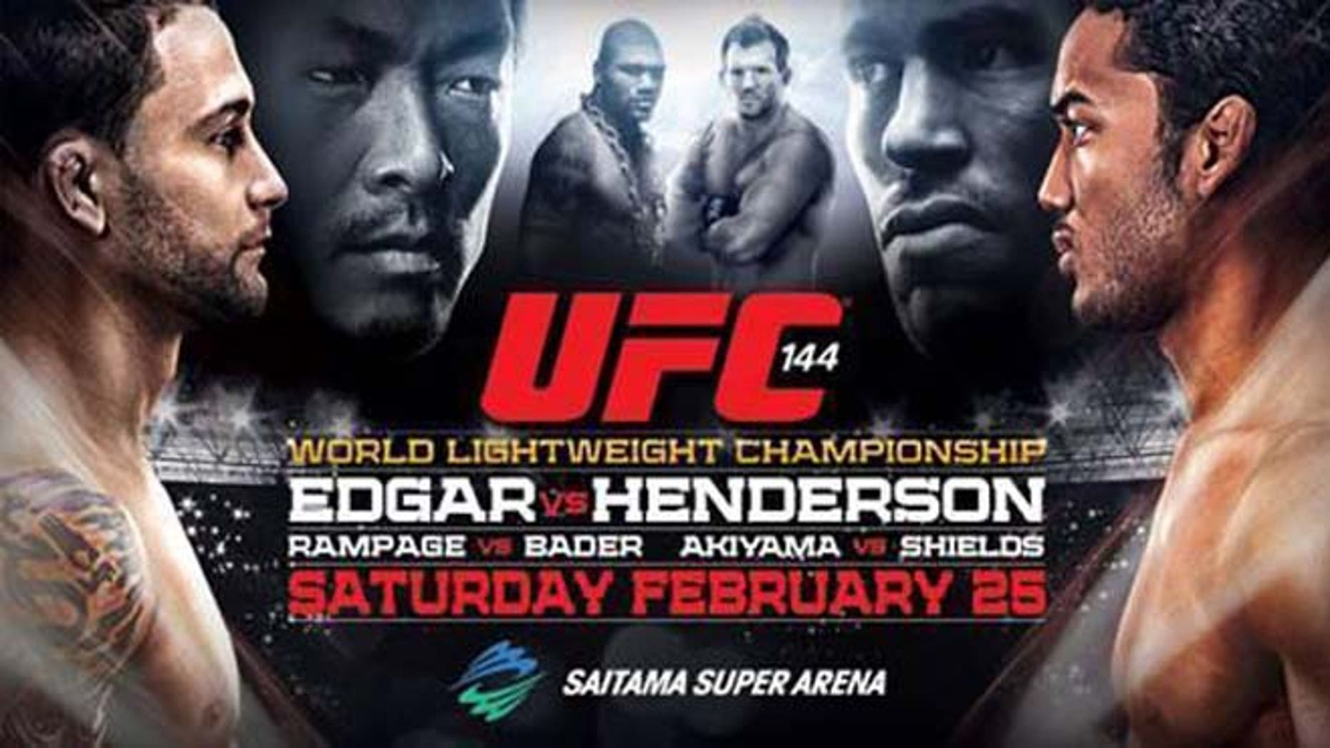 """UFC 144: Henderson Beats Edgar, Pettis Gets """"Knockout Of The Night ..."""