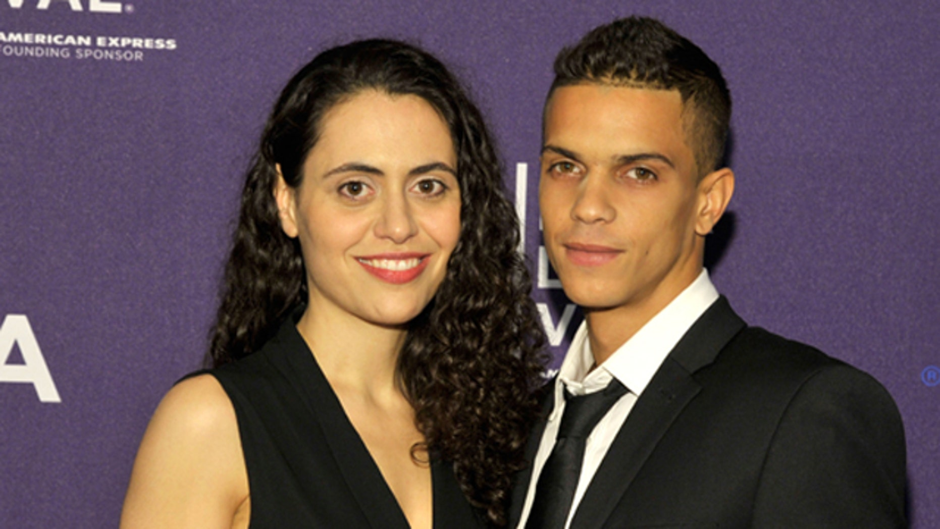 """April 19, 2012:  Writer/Director Lucy Mulloy and Actor Dariel Arrechaga attend the """"Una Noche"""" premiere during the 2012 Tribeca Film Festival at the Clearview Chelsea Cinemas in New York City."""
