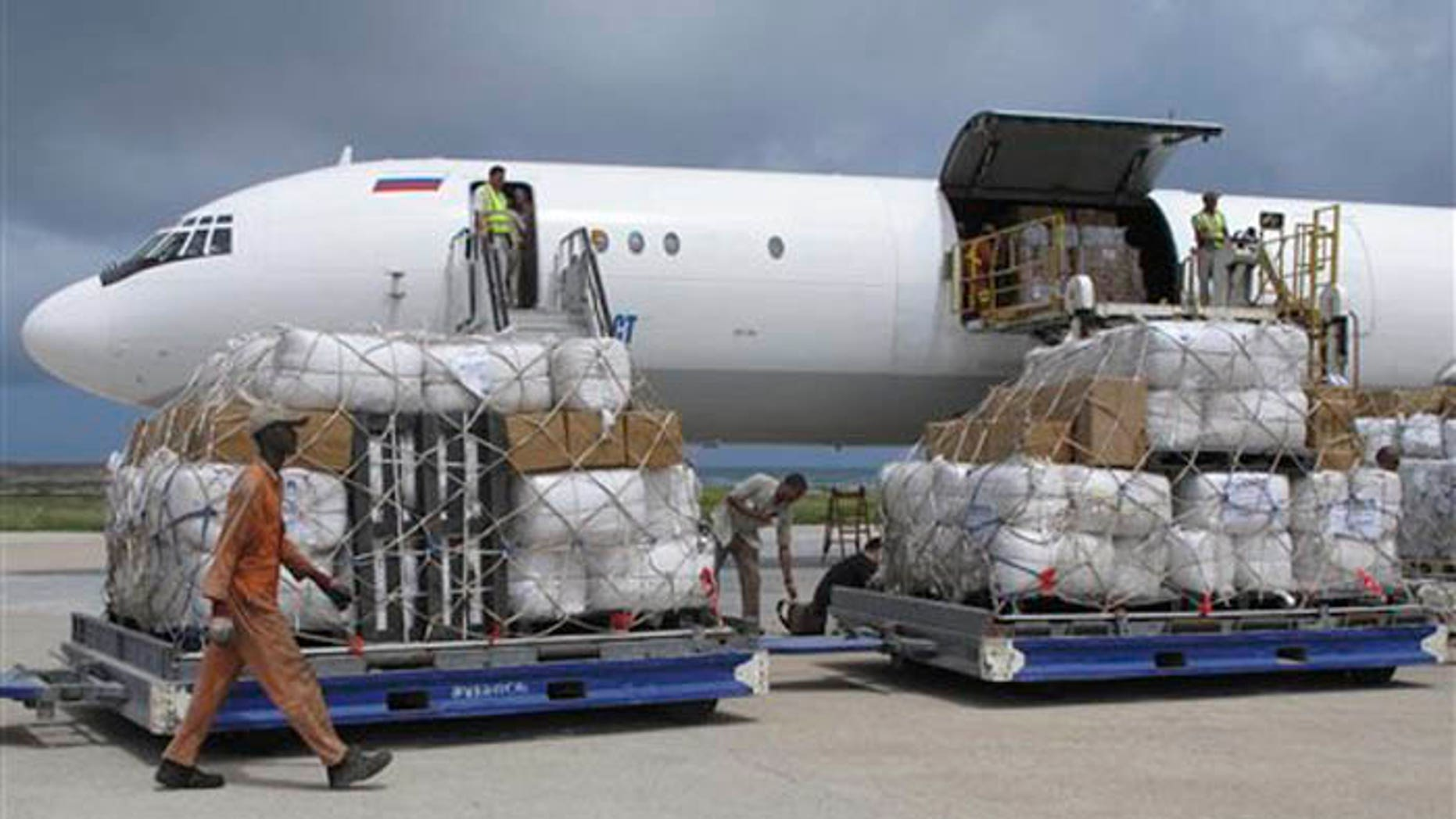 The UN is wasting money on charter flights for peacekeeping and relief missions, according to Fox News report. (AP Photo/ Mohamed Sheikh Nor).