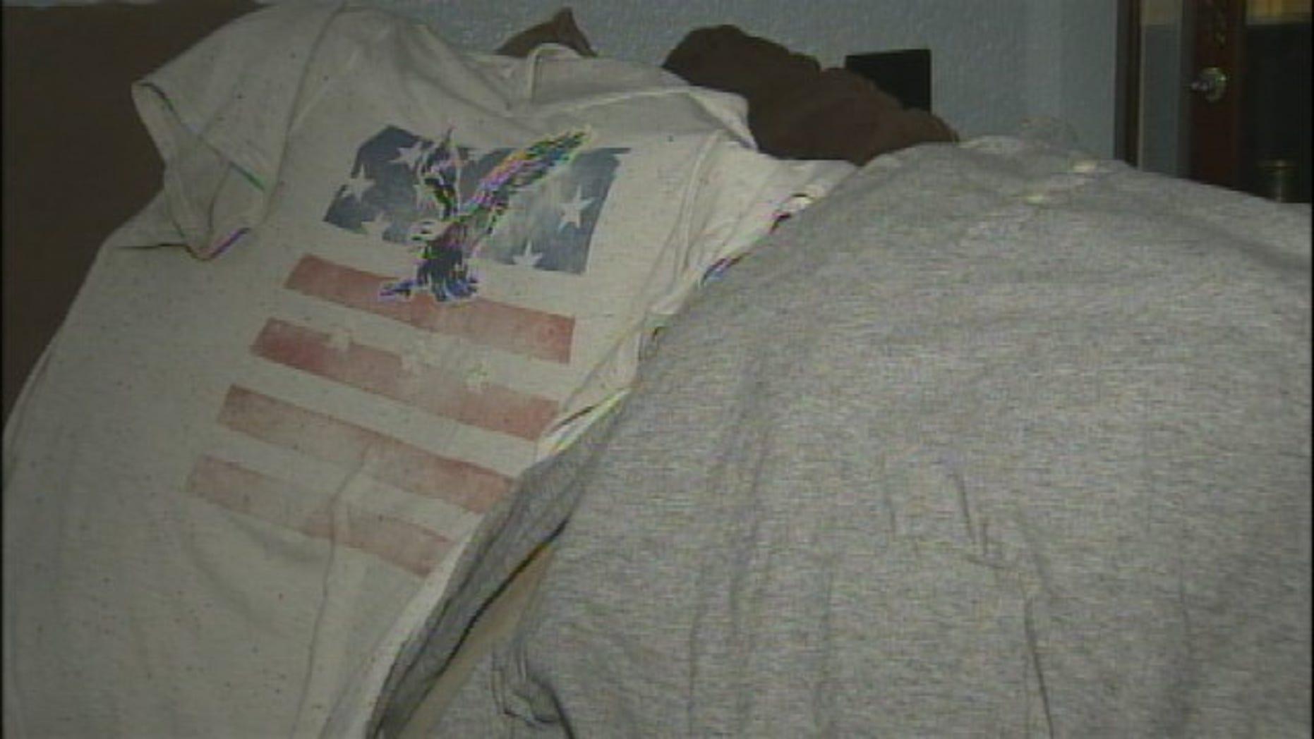 A high school student's American flag T-shirt got him an in-school suspension. (Credit: FOX 4 NEWS/Dallas)