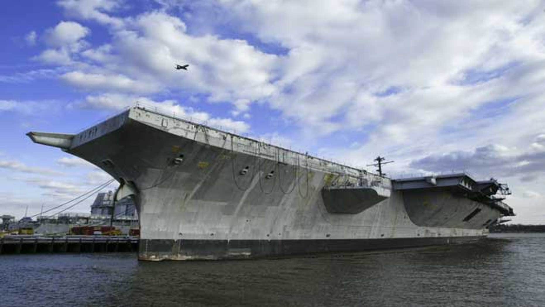 Navy To Resume Sinking Old Ships In Us Waters Fox News