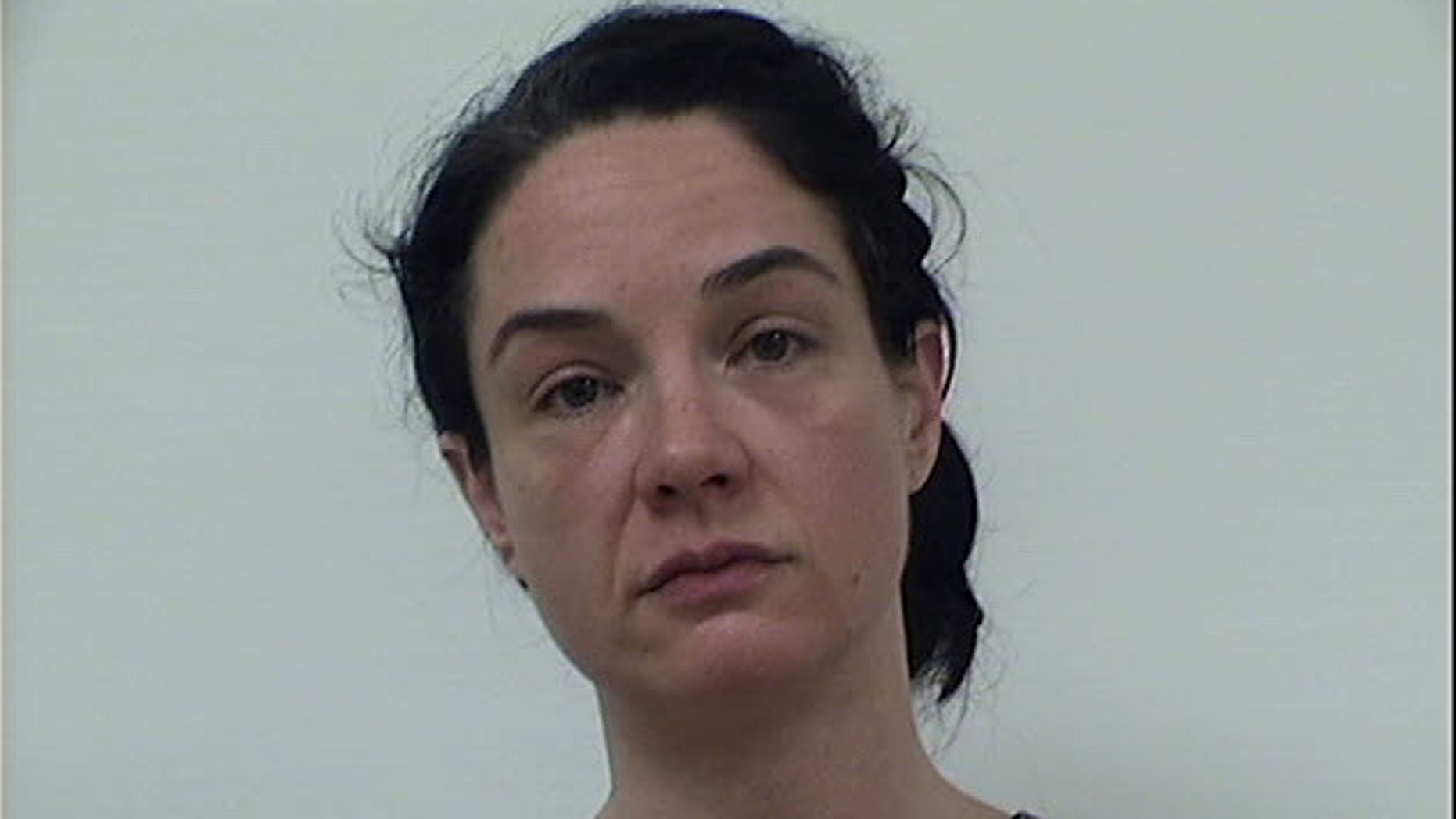 Booking photo of Jennifer Ullery.