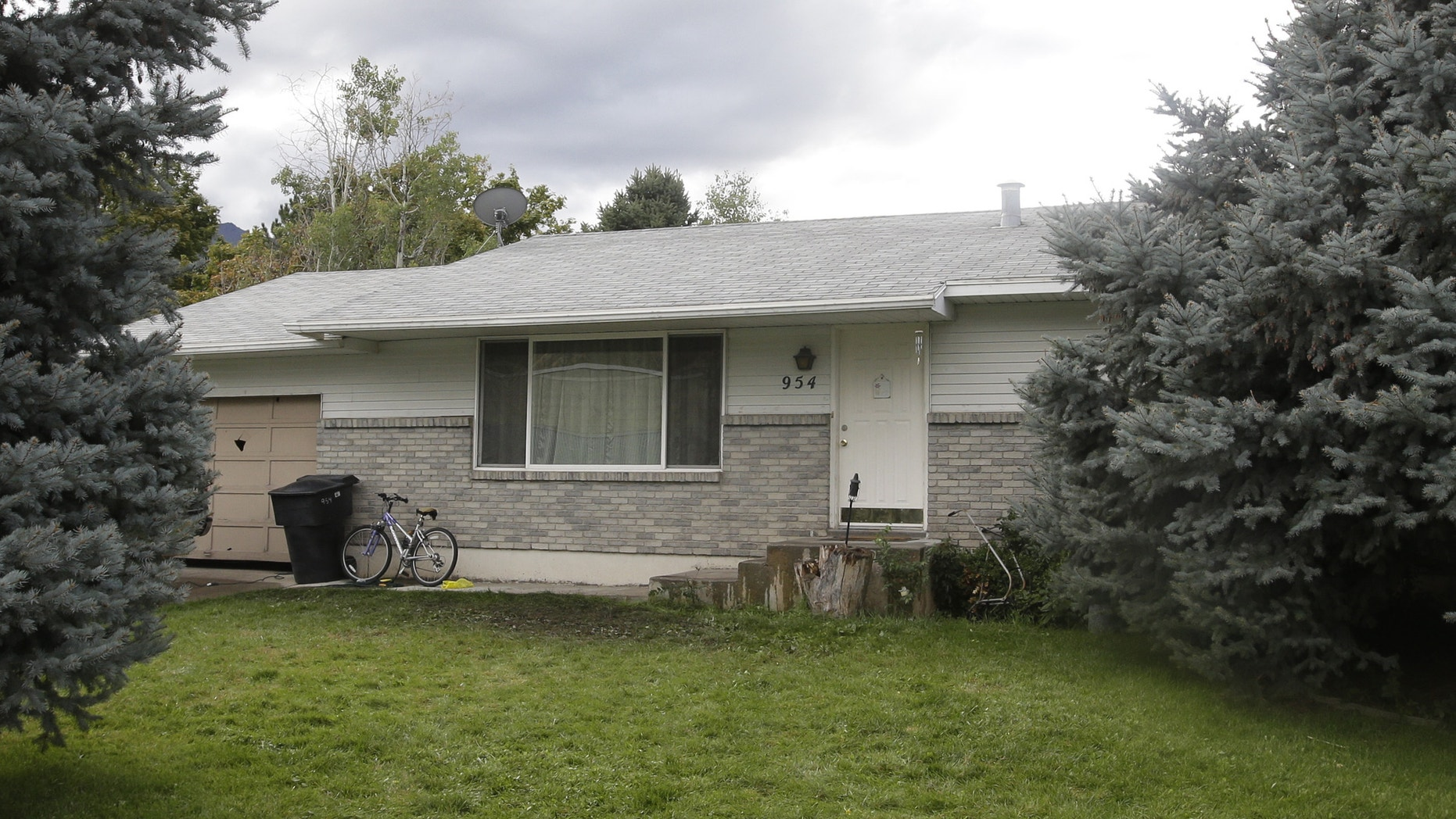 Sept. 28, 2014: The home where five Utah family members found dead in their home, in Springville, Utah
