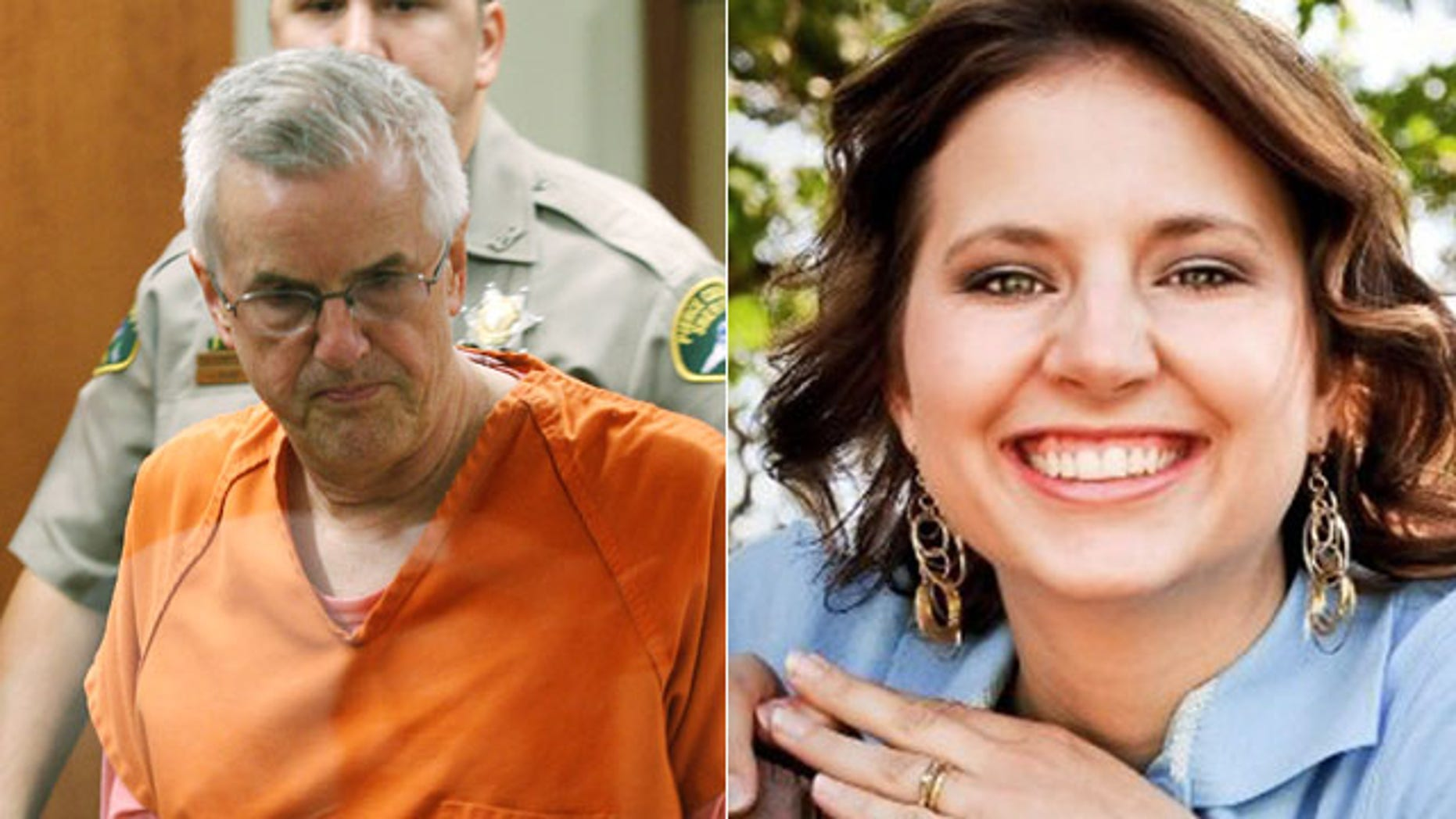Steven Powell, 61, was arrested and accused of secretly videotaping Susan Powell, who has been missing since 2009, and young girls taking baths and sitting on the toilet next door, say authorities.