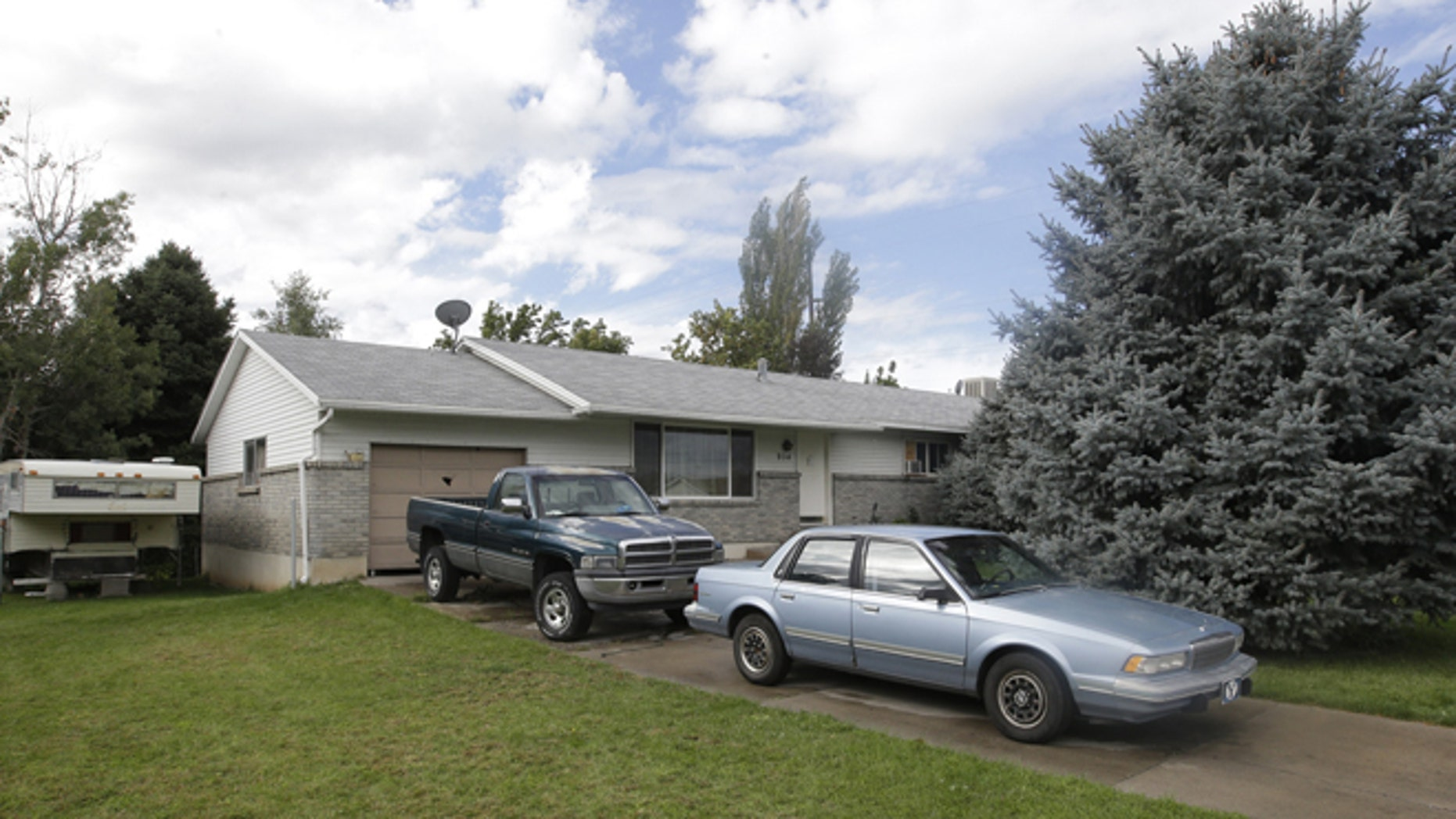Sept. 28: The home where five Utah family members found dead in their home, in Springville, Utah. Police say the deaths of five members of a Utah family whose bodies were found last month do not appear to be accidental or natural.
