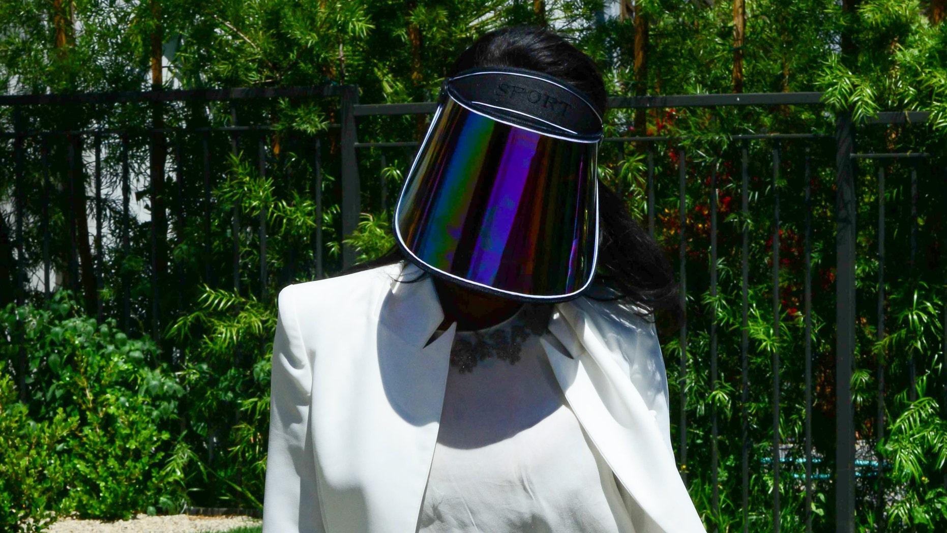 V. Stiviano on May 02, 2014 in Los Angeles, California.