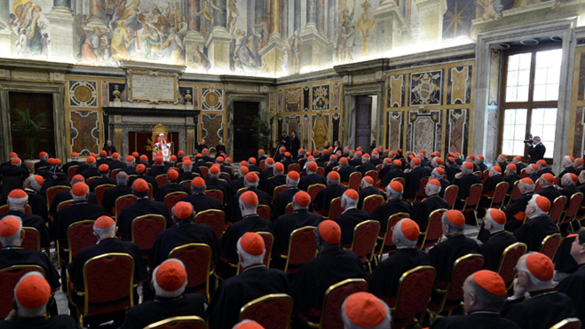 (Photo AP/L'Osservatore Romano, ho)