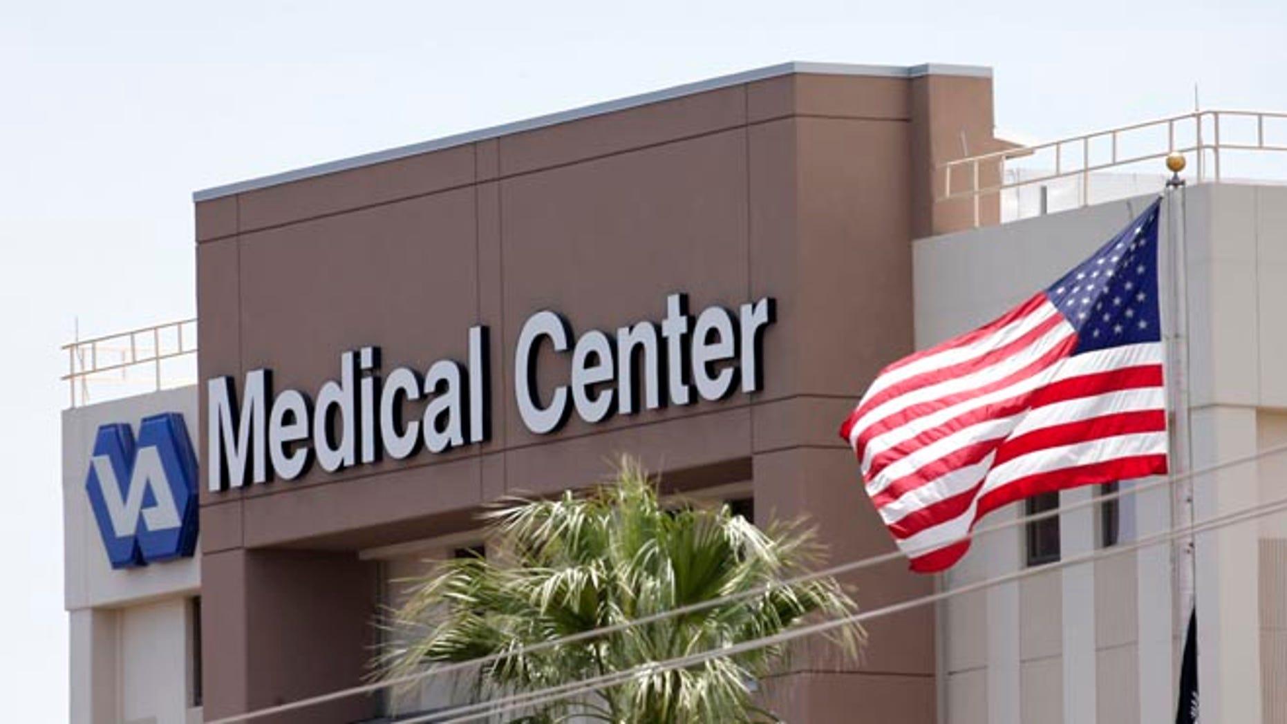 FILE: May 17, 2014: The Department of Veterans Affairs in Phoenix, Ariz.