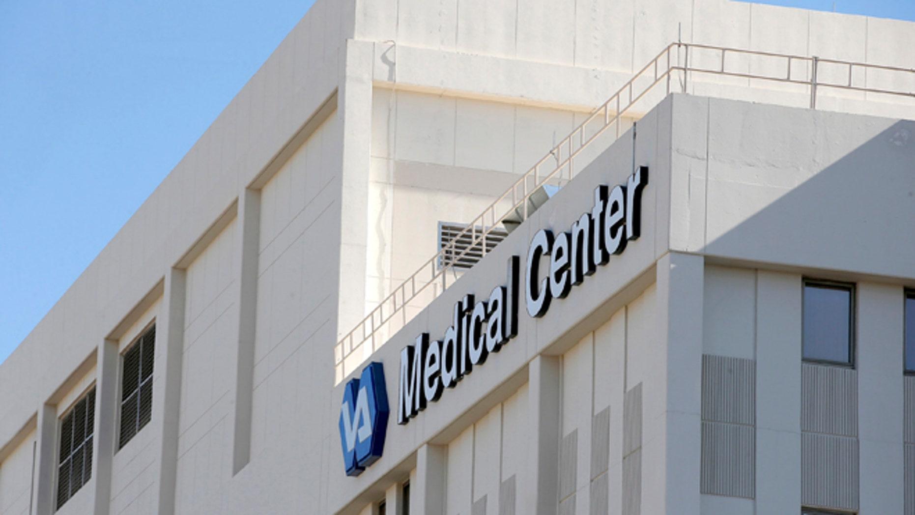 FILE: April 28, 2014: The Phoenix VA Health Care Center in Phoenix, Ariz.