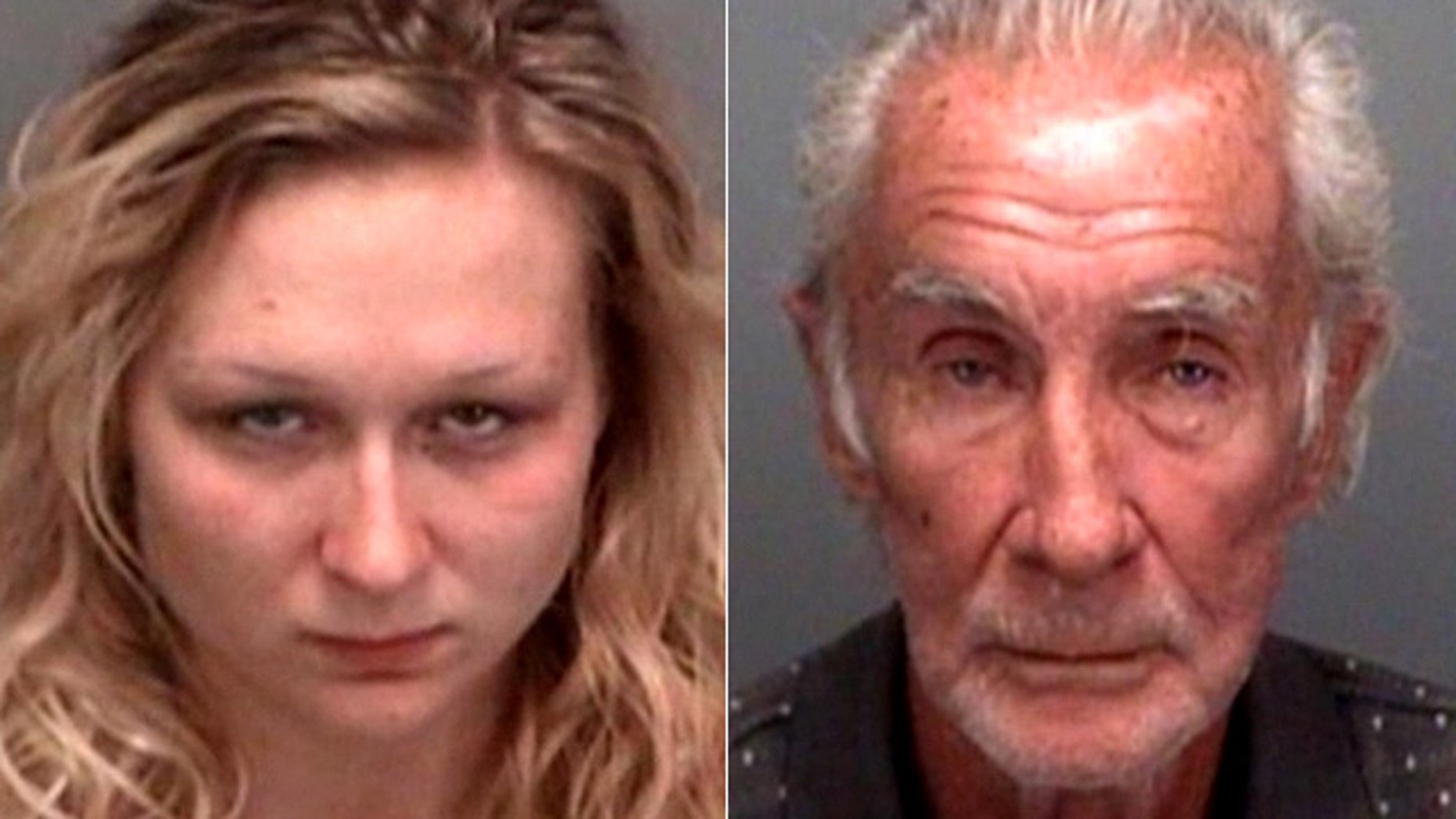 Josephine Rebecca Smith, left, allegedly attacked Milton Ellis.