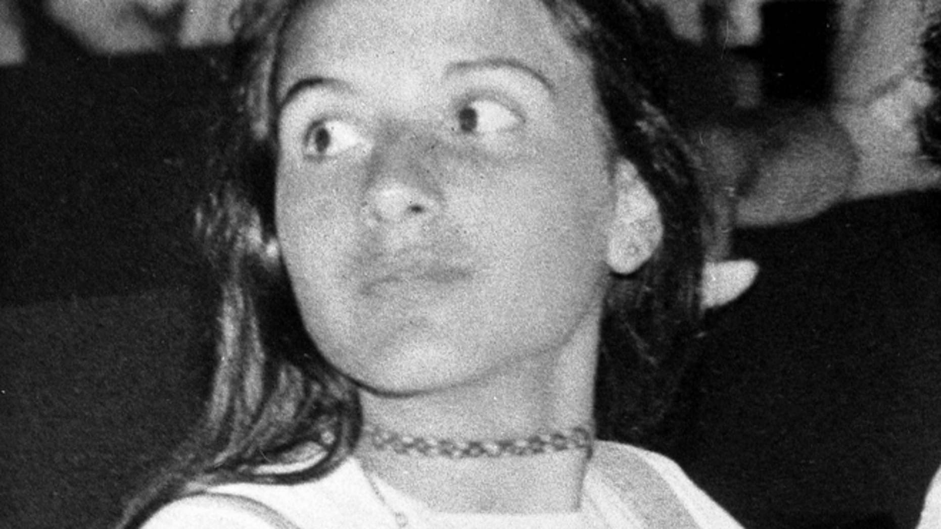 An undated  photo showing Italian teenager Emanuela Orlandi, the daughter of a Vatican employee, believed to have been kidnapped after a music lesson in Rome on June 22, 1983 when she was 15-years-old.