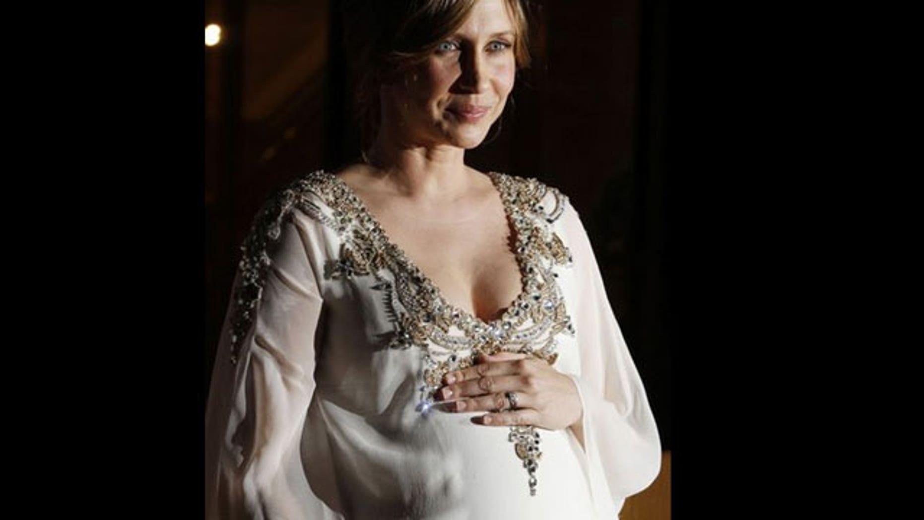 Is Vera Farmiga the hottest expectant mom right now?