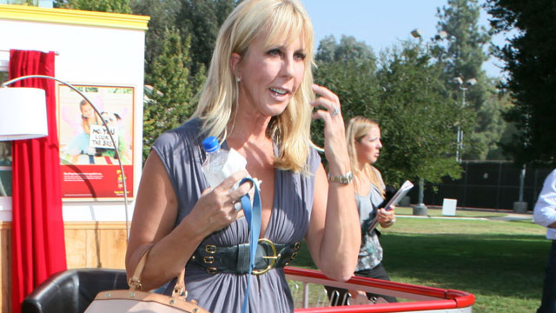 """""""Real Housewives"""" star Vicki Gunvalson has reportedly been hospitalized for internal bleeding."""